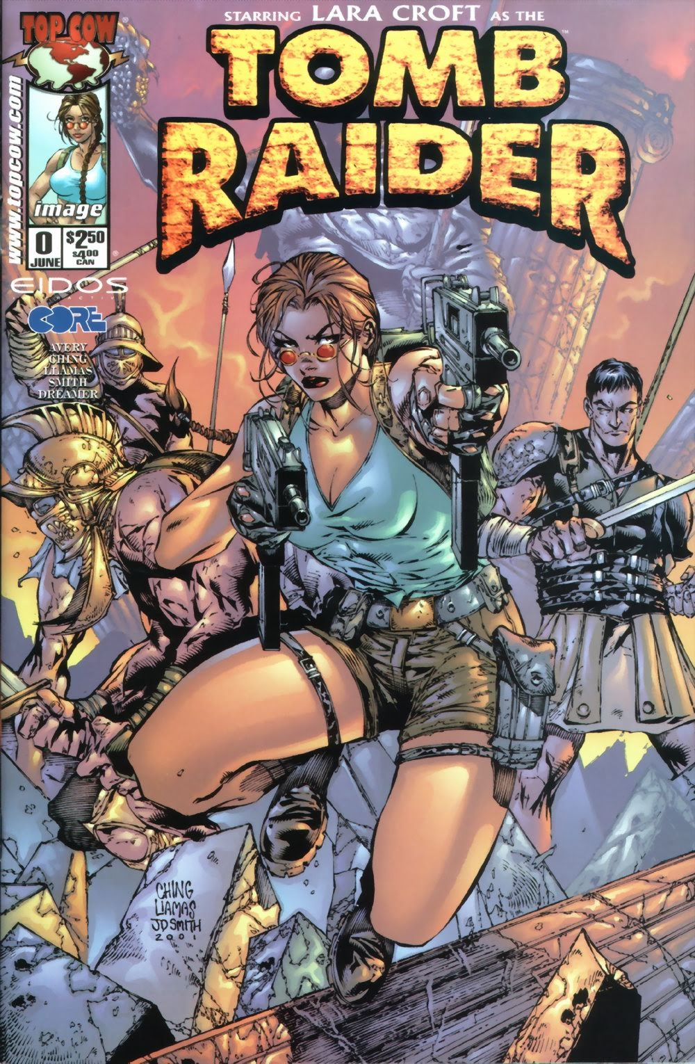Read online Tomb Raider: The Series comic -  Issue #0 - 1