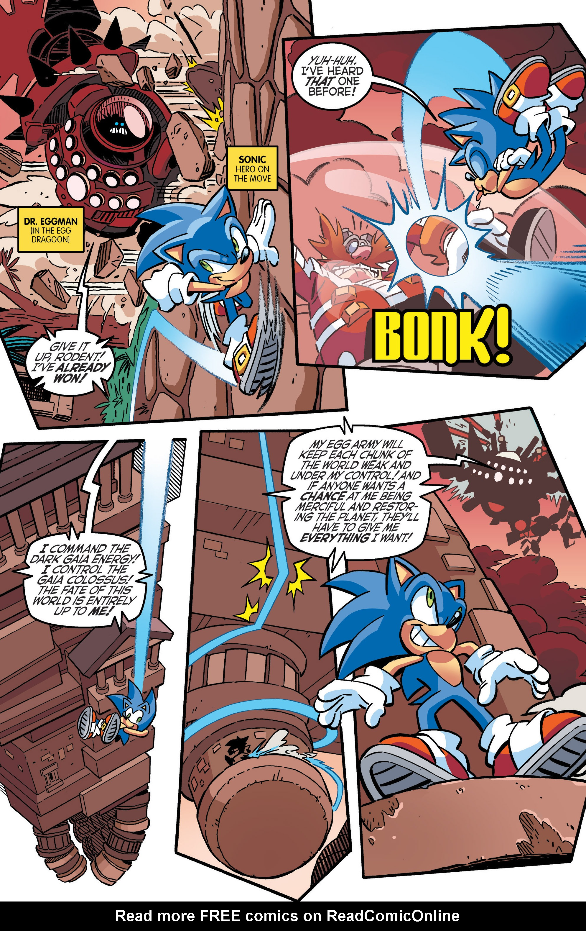 Read online Sonic The Hedgehog comic -  Issue #286 - 4
