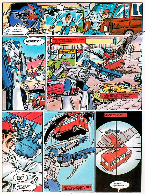 The Transformers (UK) 306 Page 13