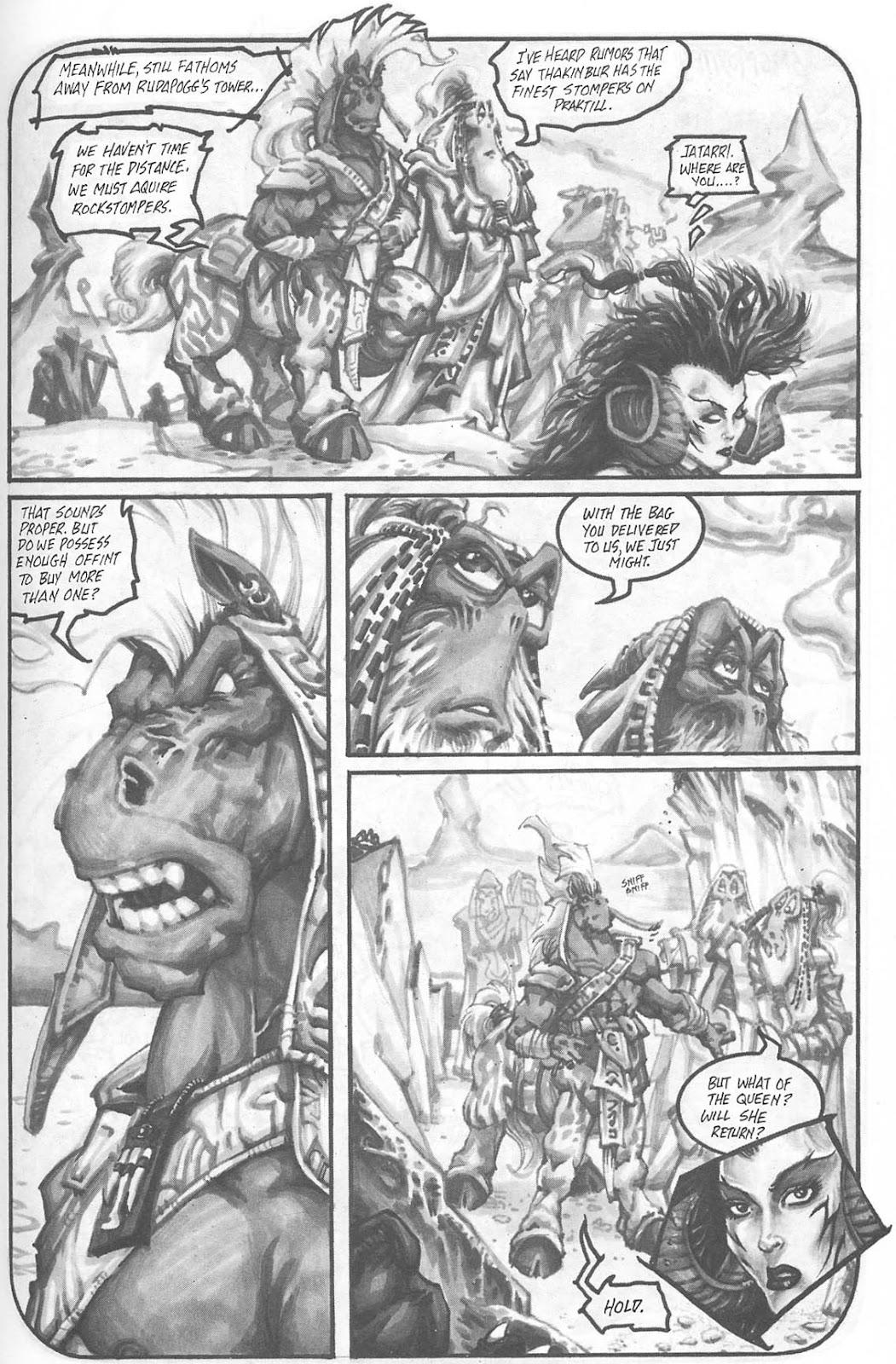 Read online Animal Mystic comic -  Issue #4 - 10