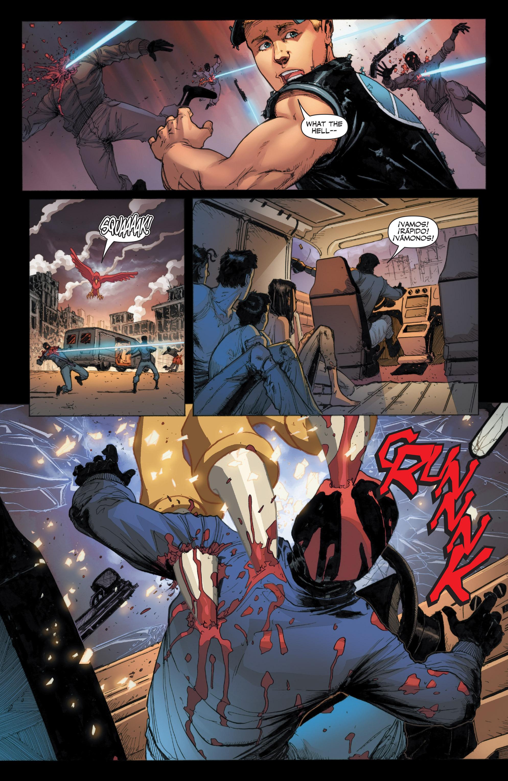Read online Armor Hunters: Harbinger comic -  Issue # TPB - 21
