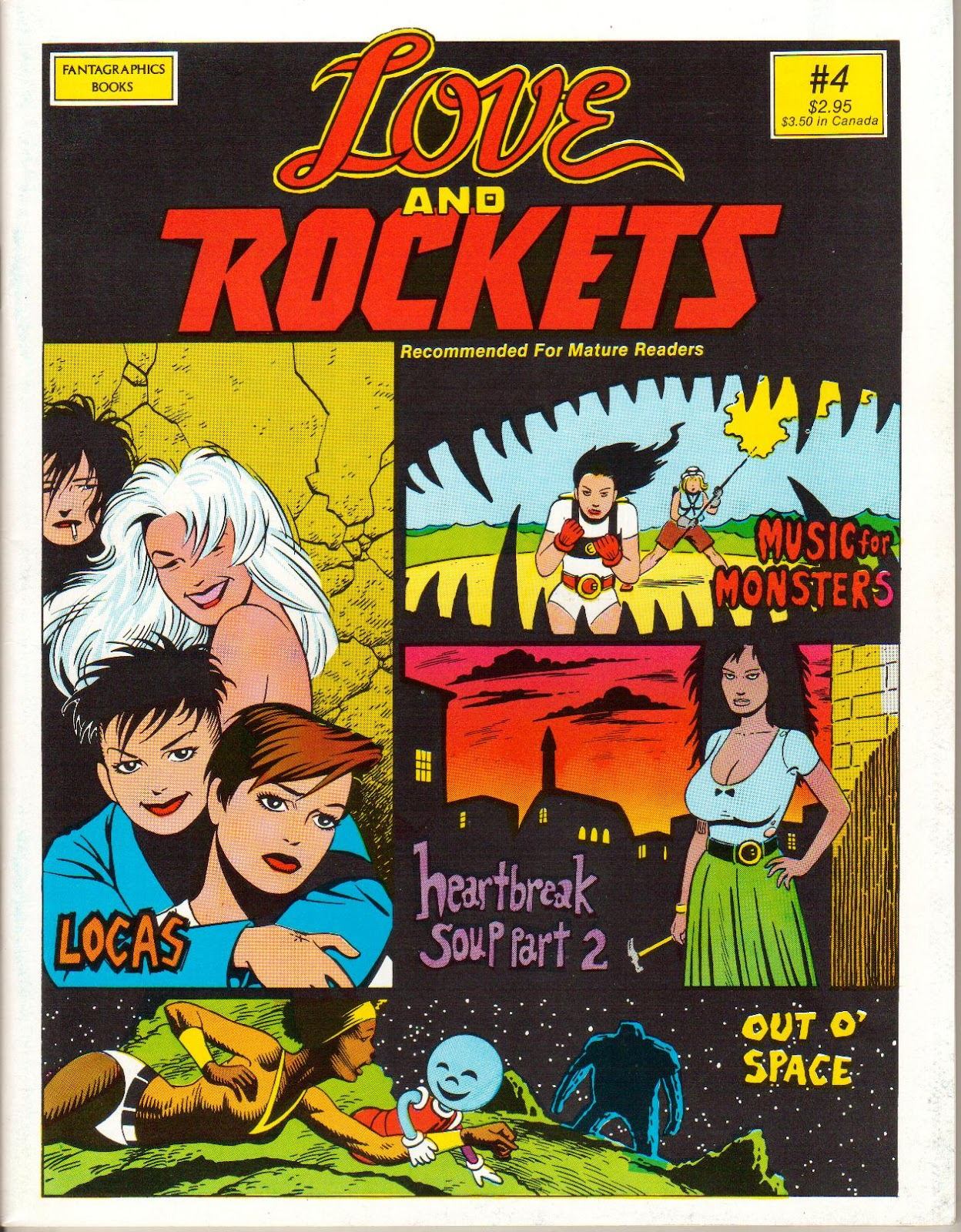 Love and Rockets (1982) issue 4 - Page 1