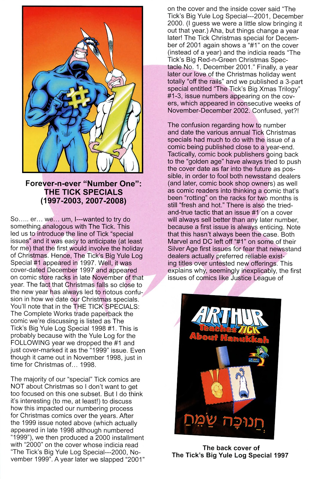 Read online The Tick comic -  Issue #101 - 32