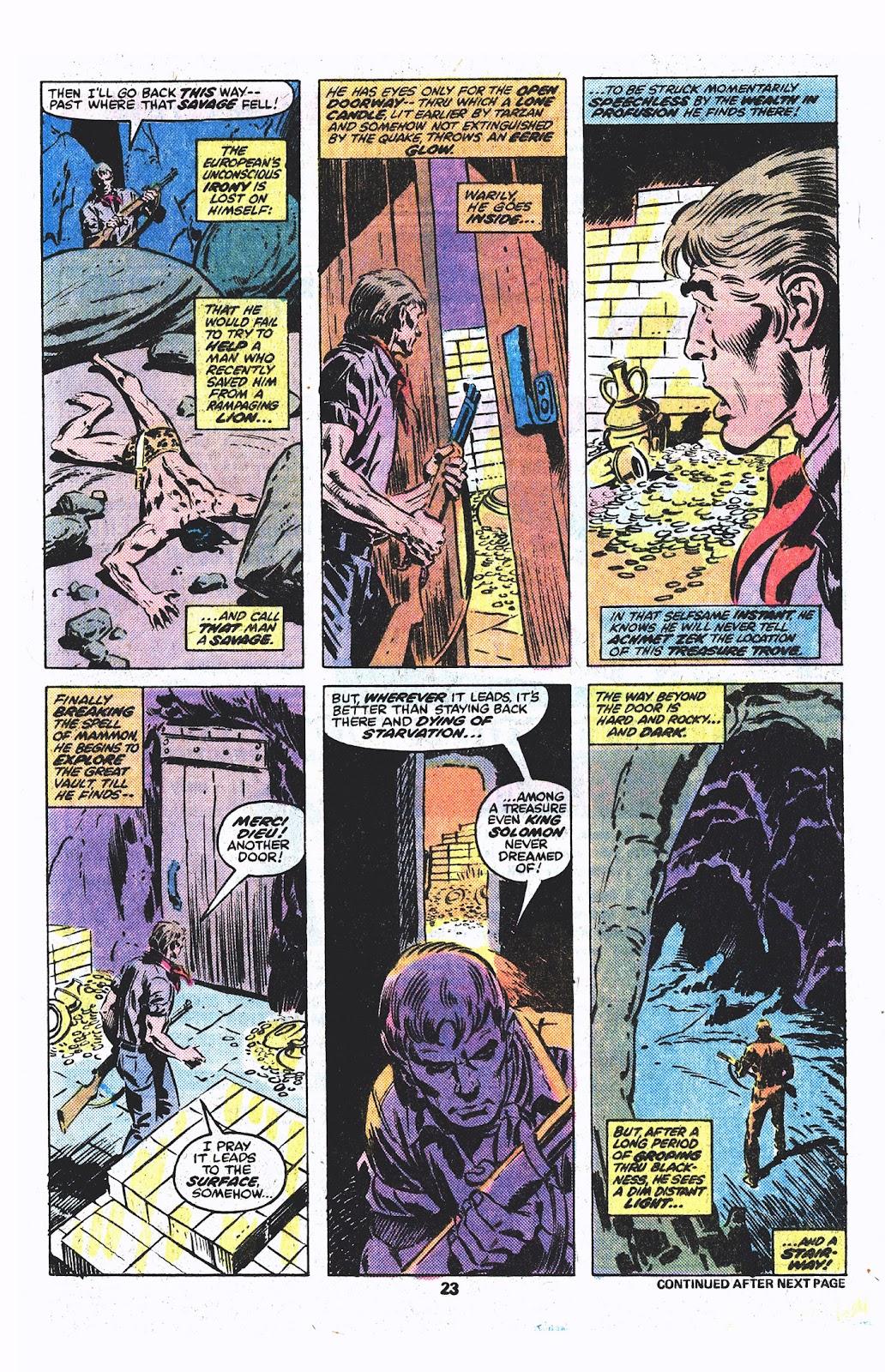 Tarzan (1977) issue 3 - Page 13
