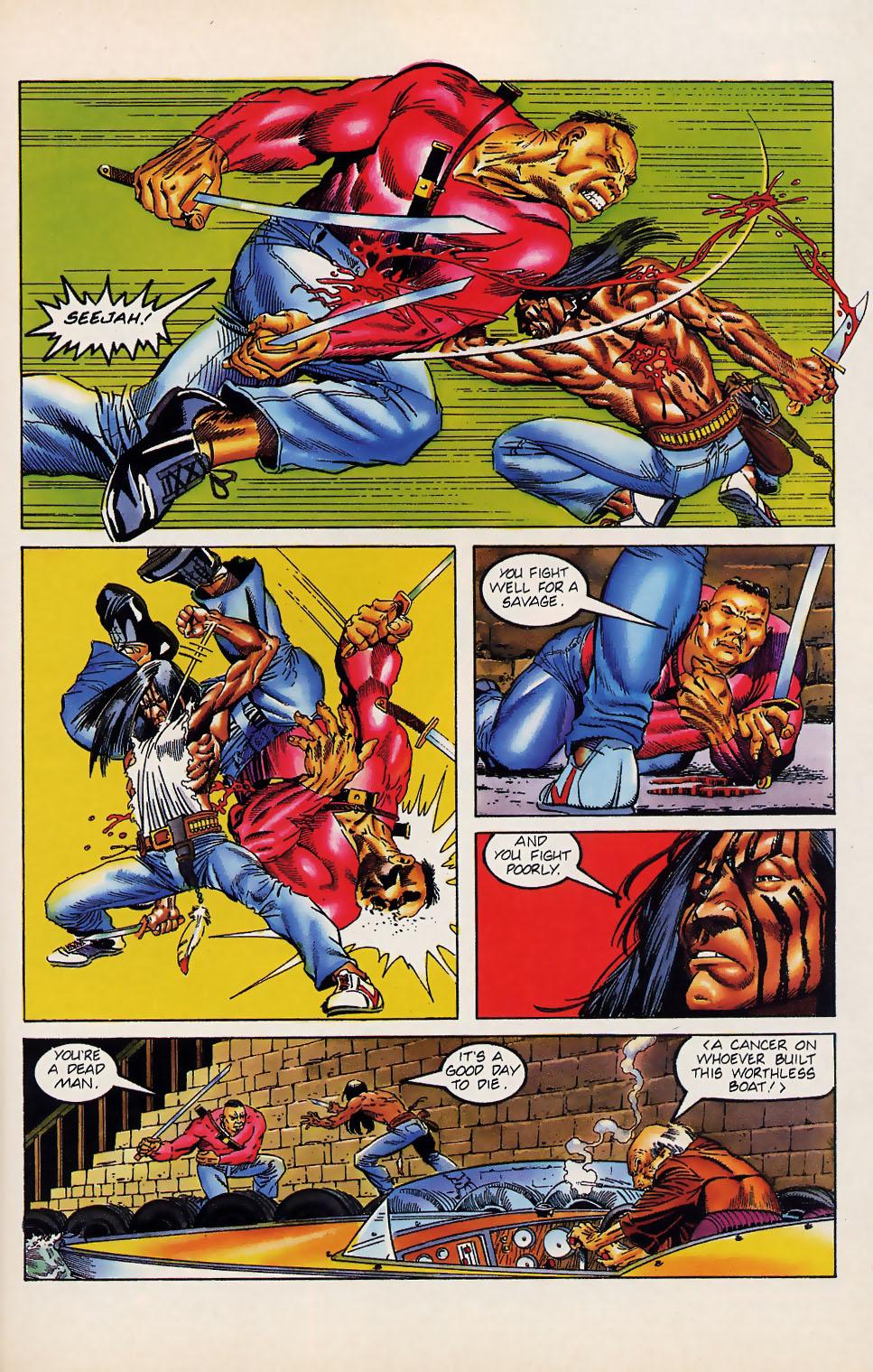 Read online Turok, Dinosaur Hunter (1993) comic -  Issue #12 - 16