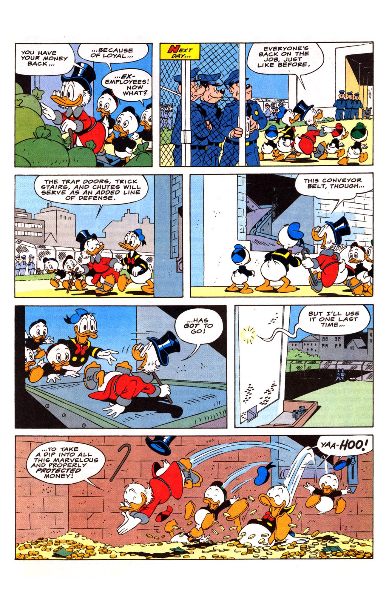 Read online Uncle Scrooge (1953) comic -  Issue #281 - 27
