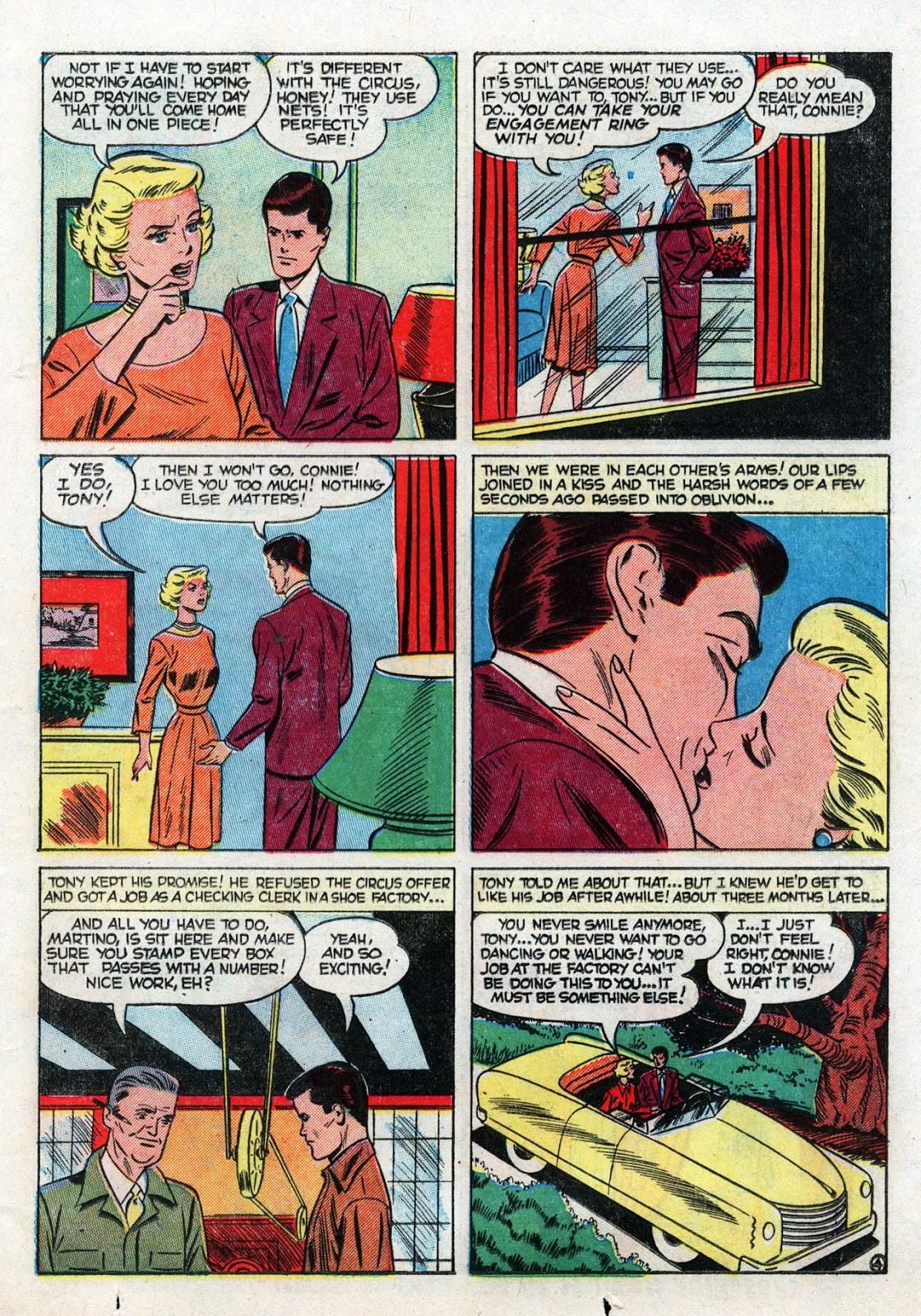 Love Romances (1949) issue 19 - Page 23