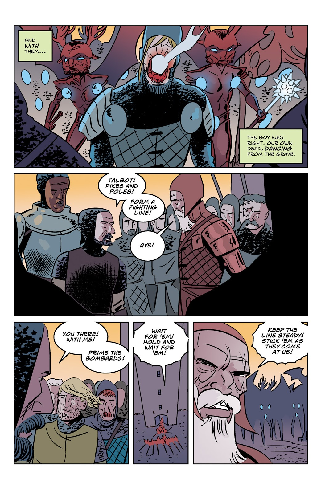 Read online Dark Ages comic -  Issue #2 - 13
