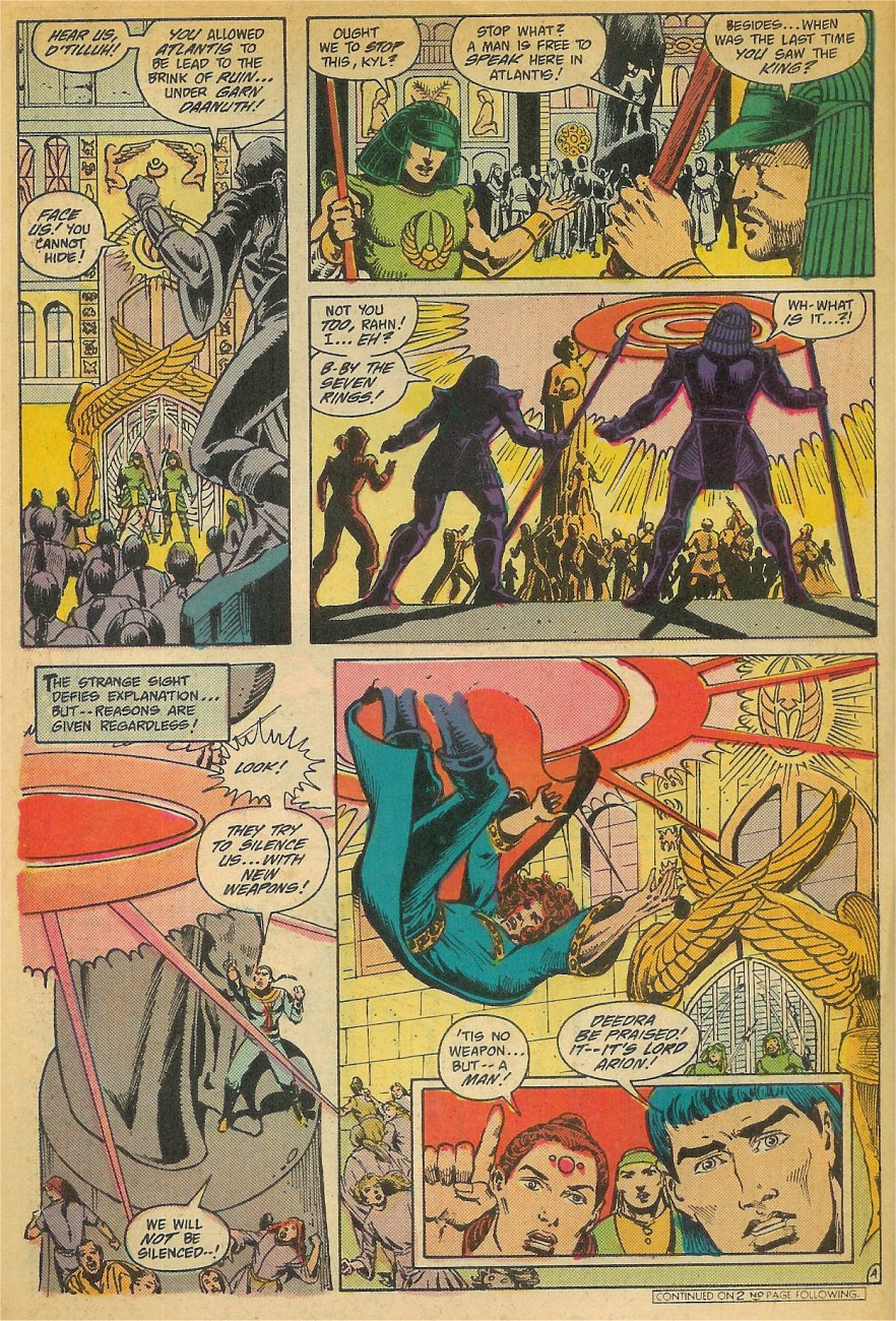 Read online Arion, Lord of Atlantis comic -  Issue #26 - 5