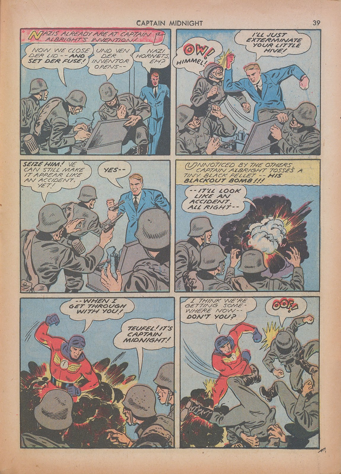 Captain Midnight (1942) issue 7 - Page 39