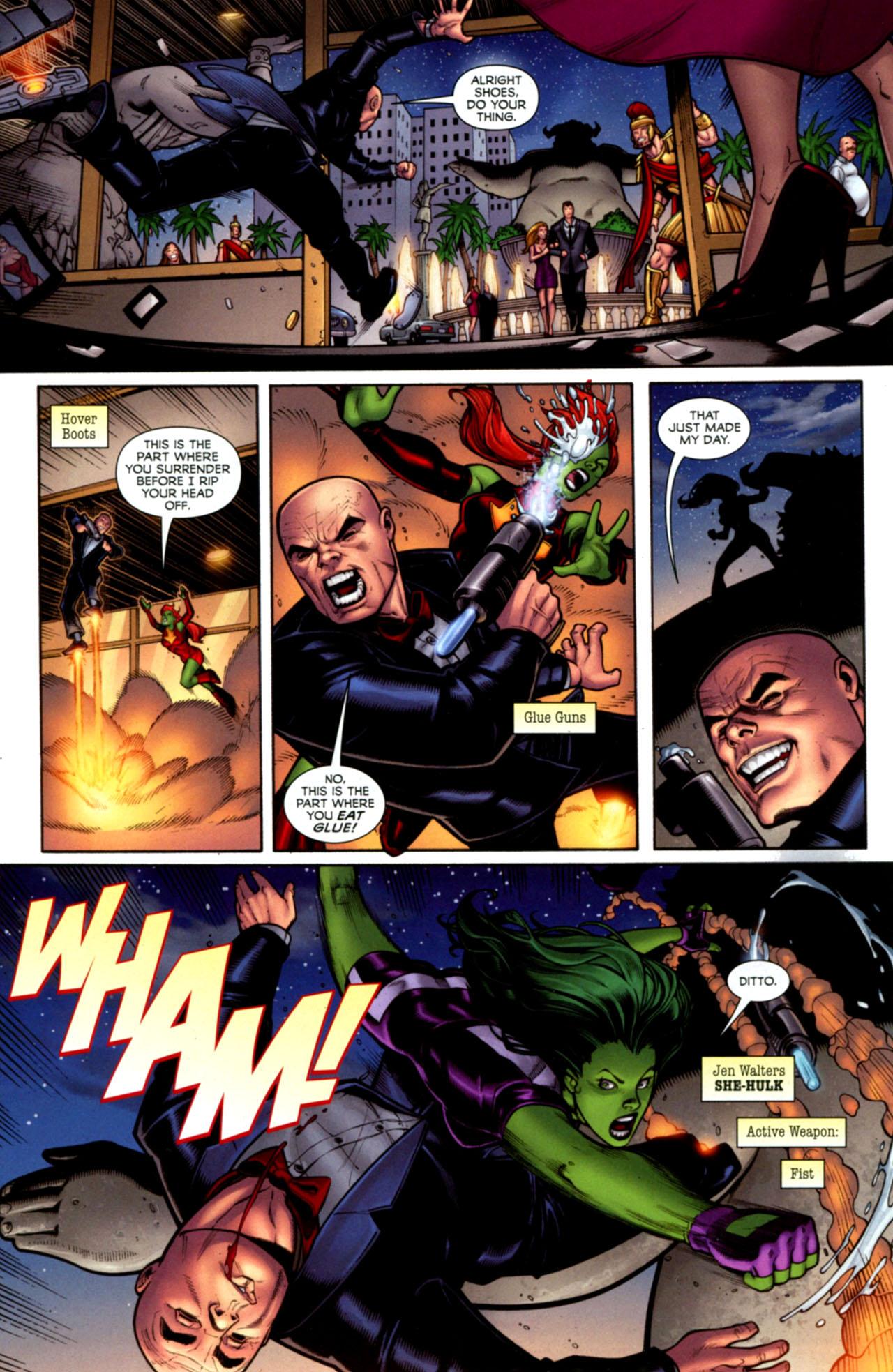 Read online She-Hulks comic -  Issue #1 - 6