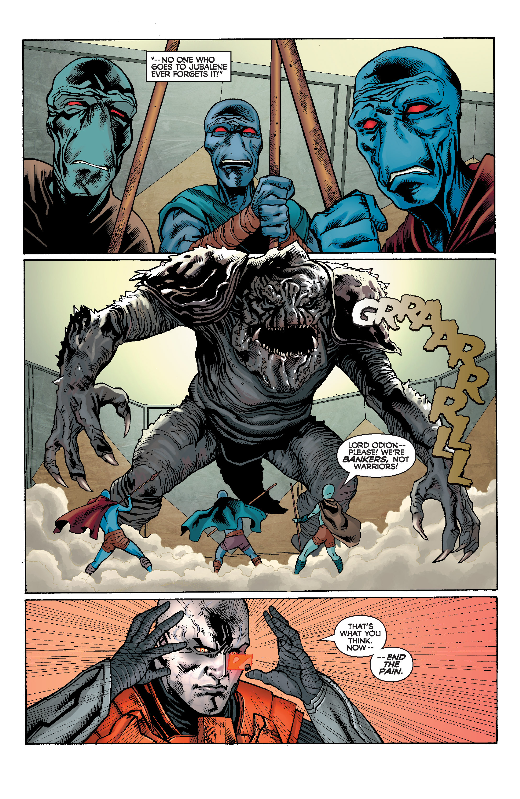 Read online Star Wars: Knight Errant - Escape comic -  Issue #1 - 16