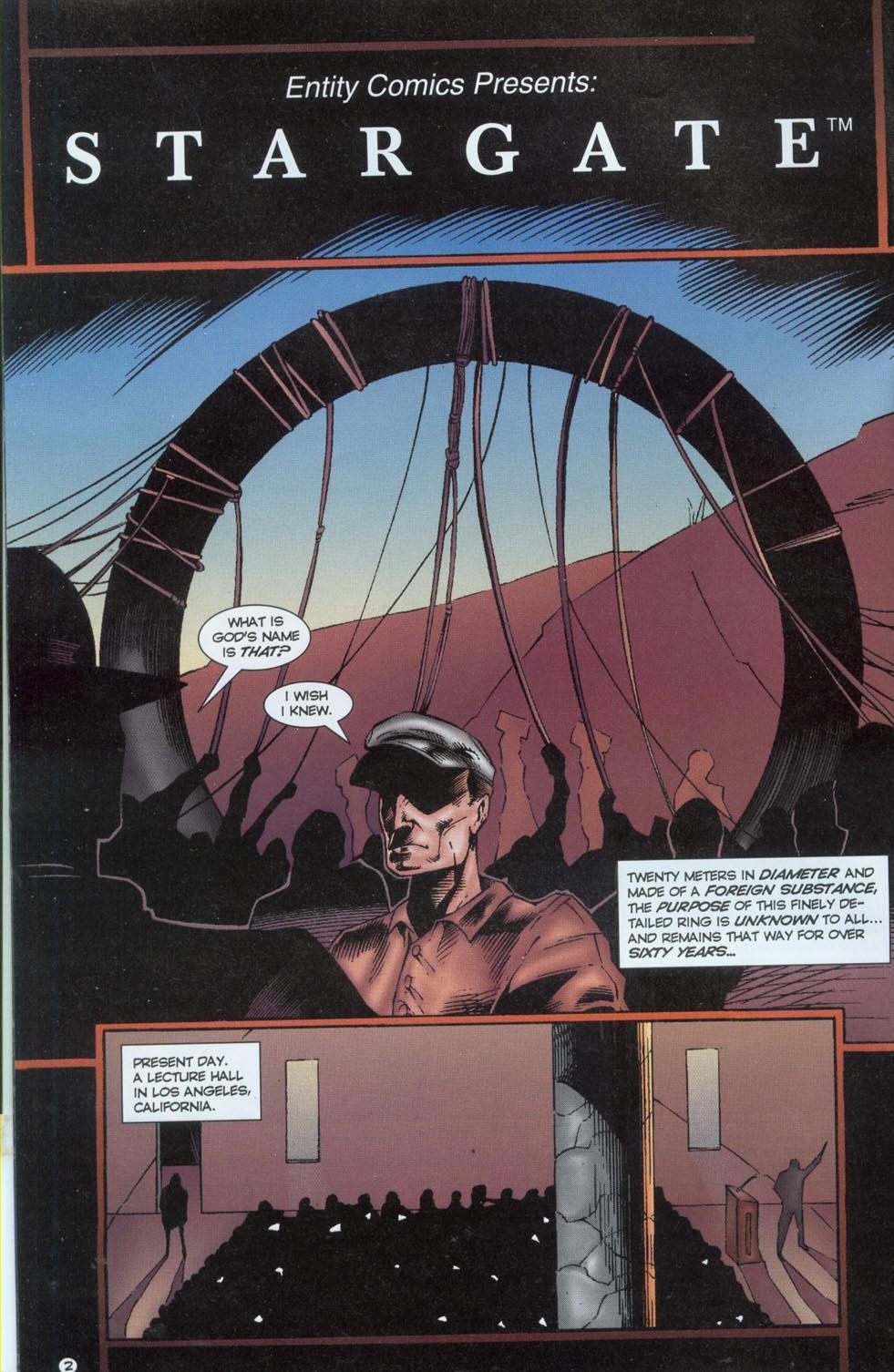 Read online Stargate comic -  Issue #1 - 4