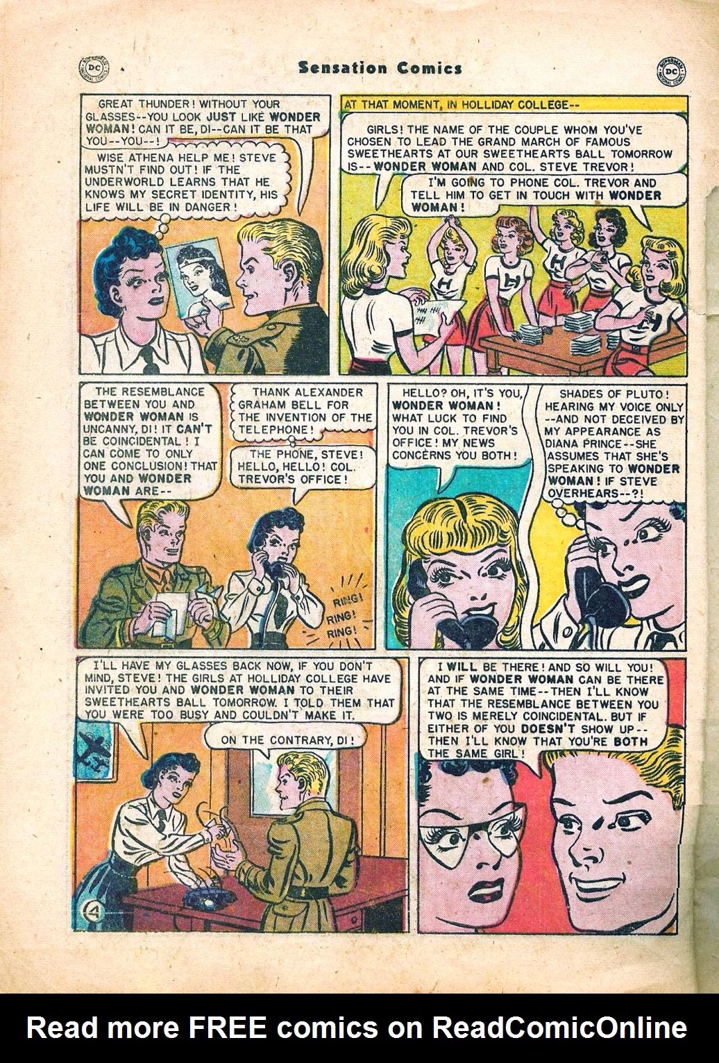 Read online Sensation (Mystery) Comics comic -  Issue #95 - 6