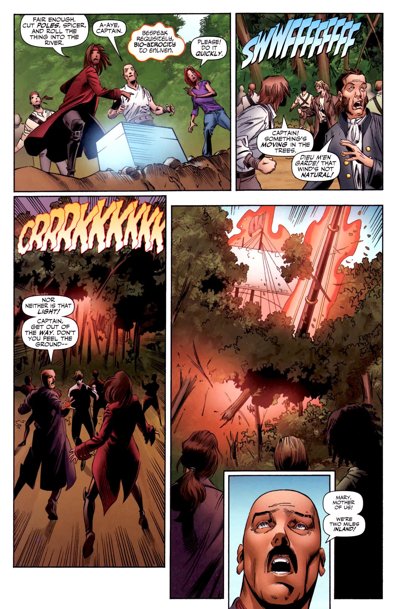 Read online Sigil (2011) comic -  Issue #3 - 21