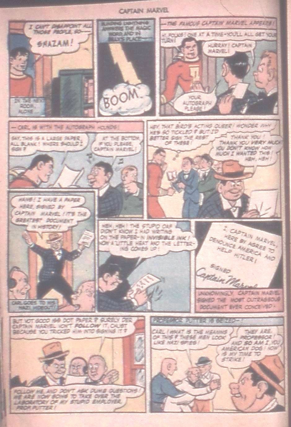 Captain Marvel Adventures issue 42 - Page 20