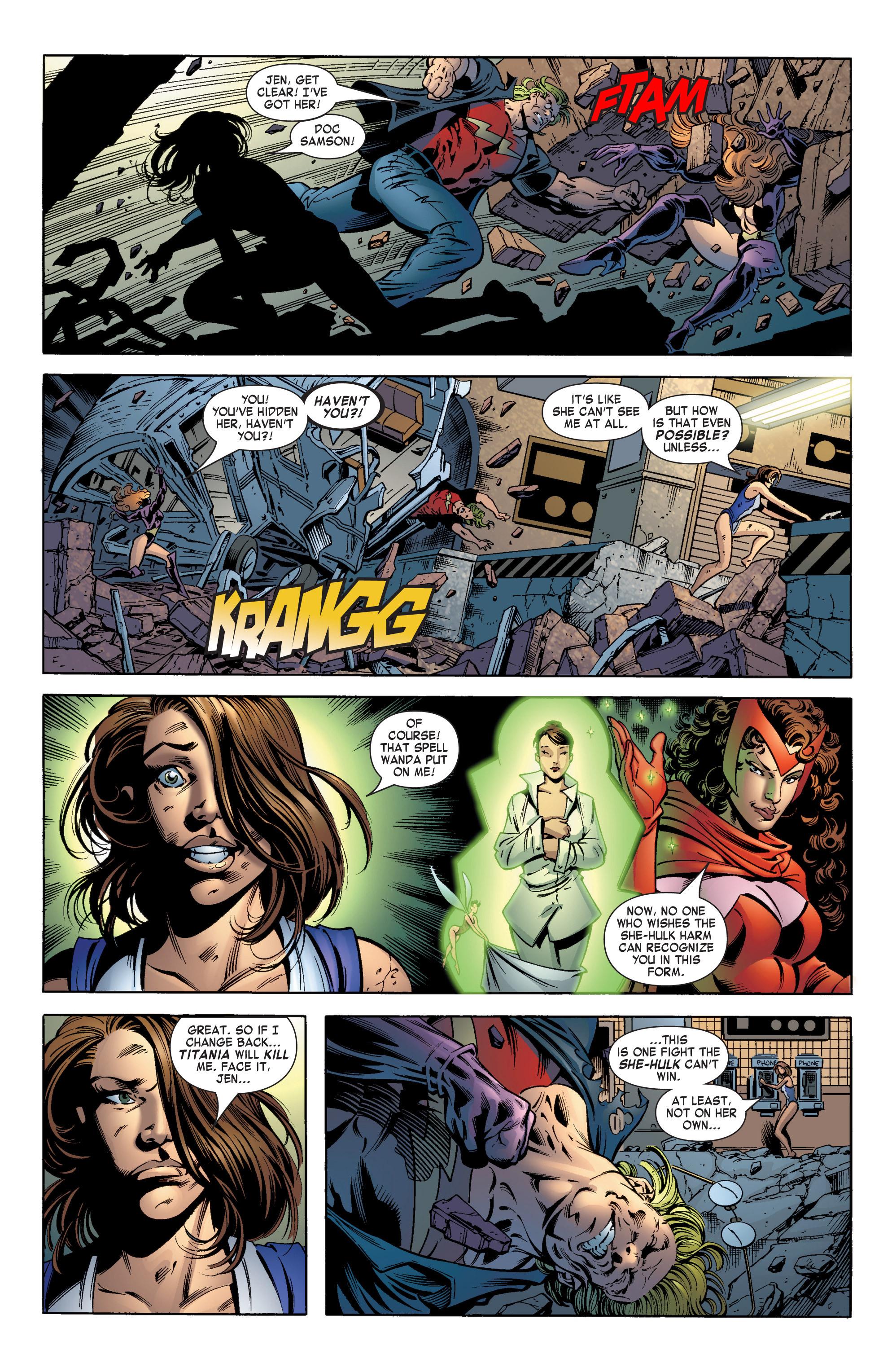 Read online She-Hulk (2004) comic -  Issue #12 - 5
