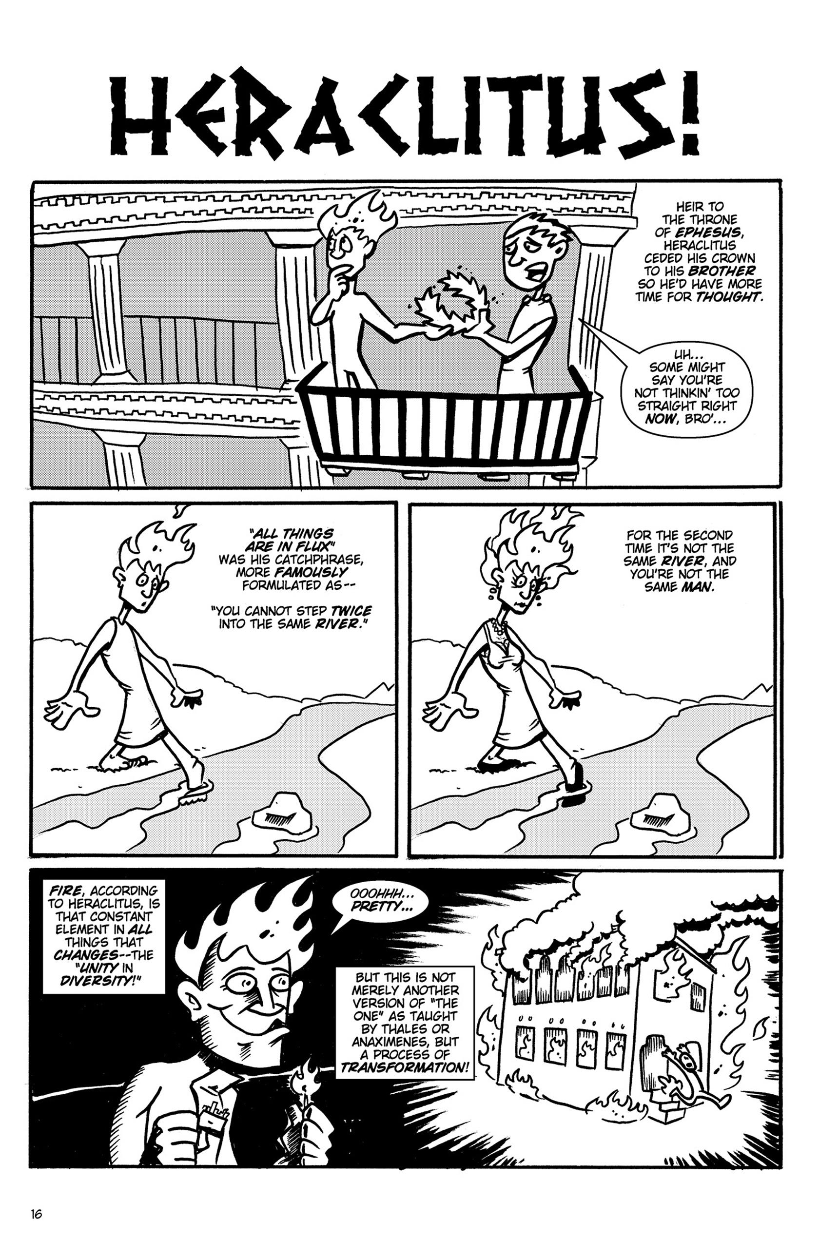 Read online Action Philosophers! comic -  Issue #Action Philosophers! TPB (Part 1) - 16