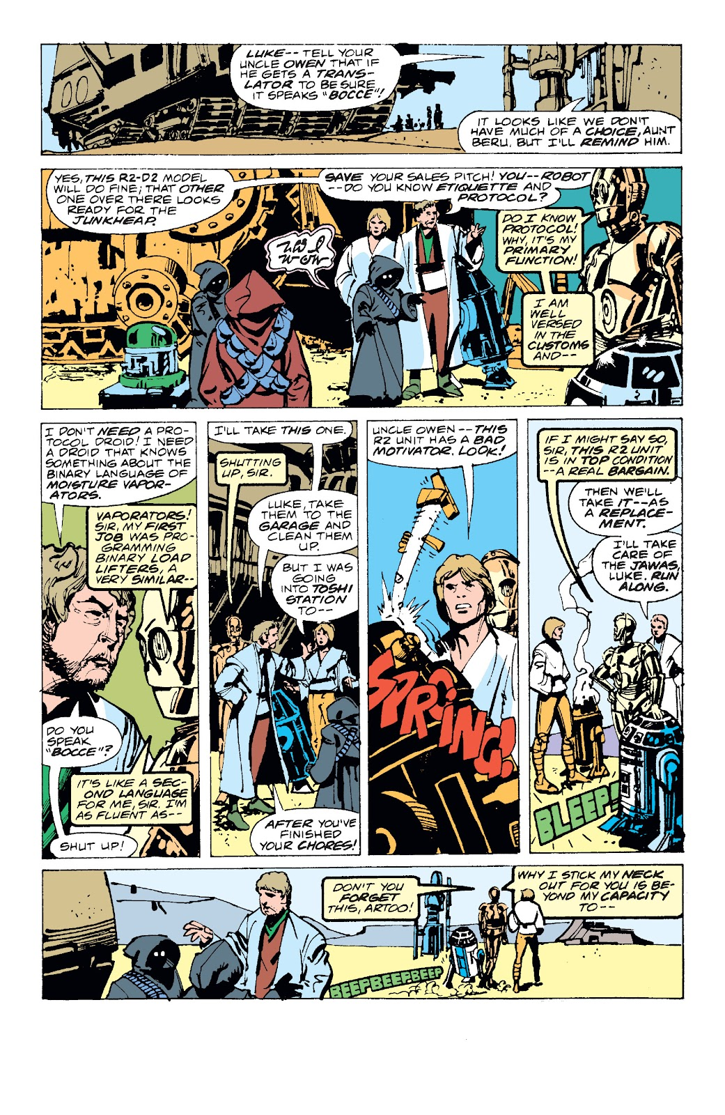 Read online Star Wars Legends: The Original Marvel Years - Epic Collection comic -  Issue # TPB 1 (Part 1) - 15
