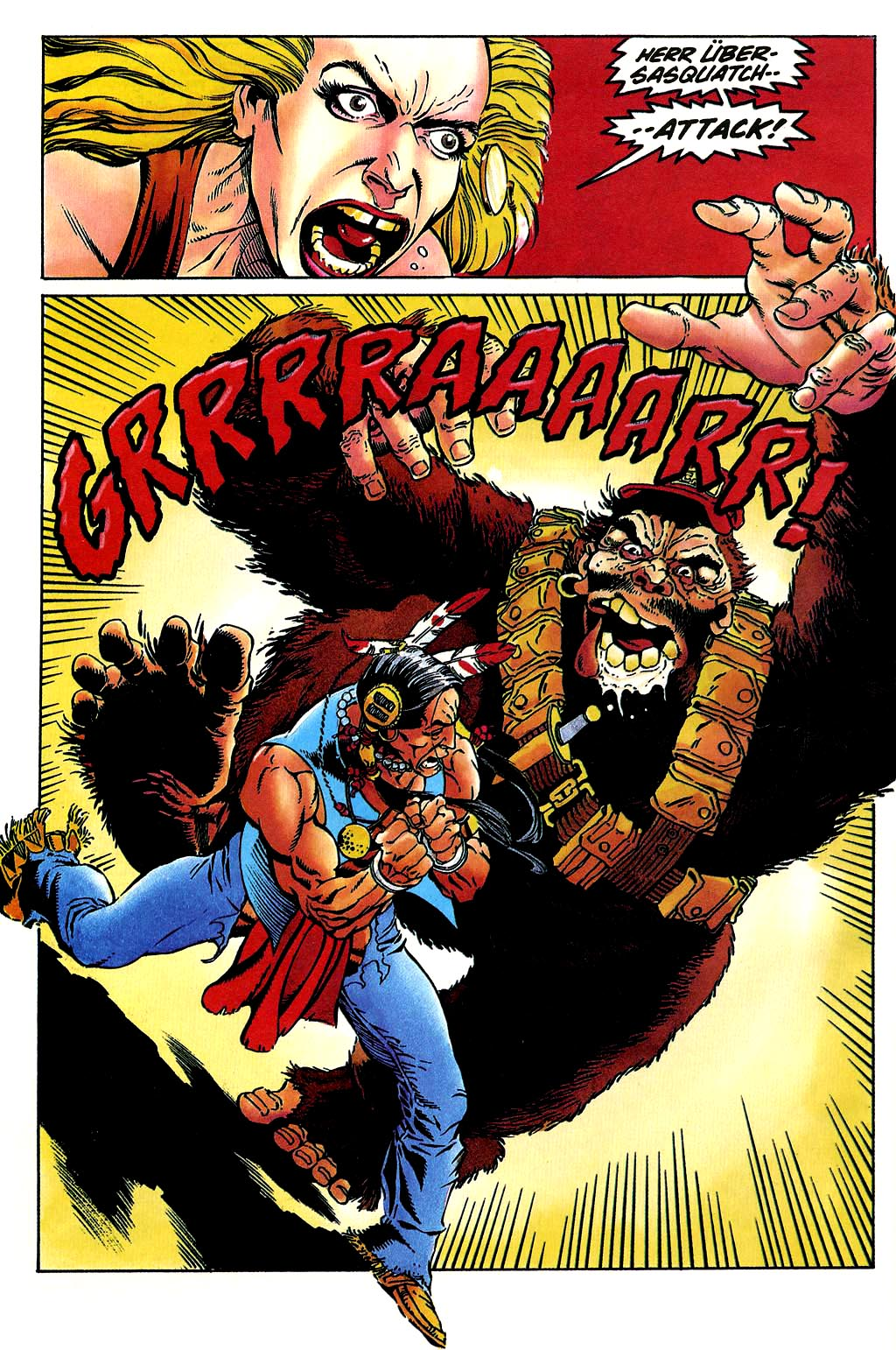Read online Turok, Dinosaur Hunter (1993) comic -  Issue #38 - 8