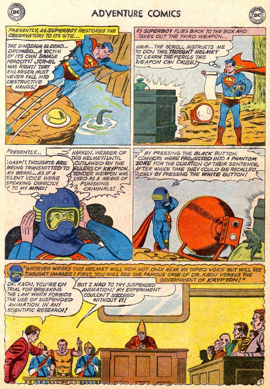 Read online Adventure Comics (1938) comic -  Issue #283 - 10
