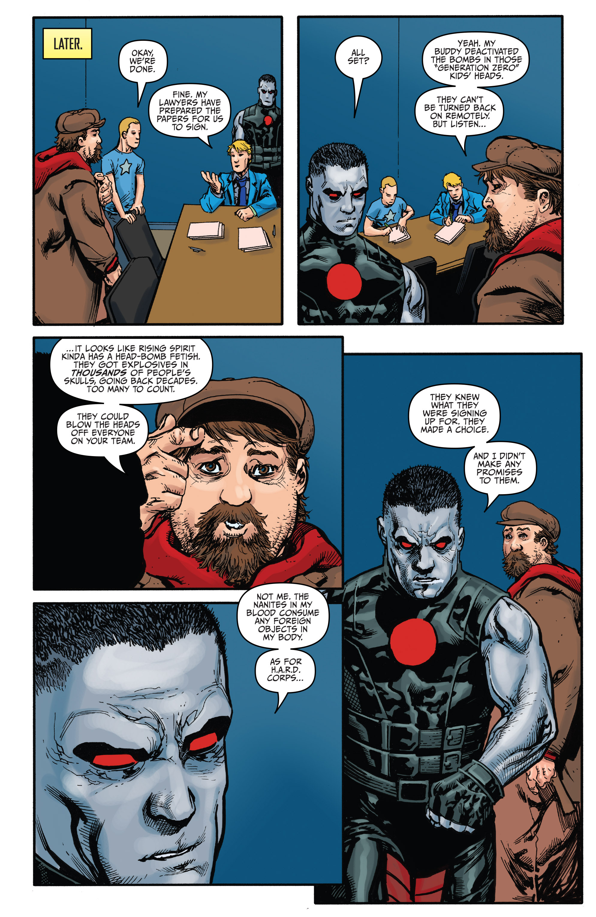 Read online Bloodshot and H.A.R.D.Corps comic -  Issue #21 - 19