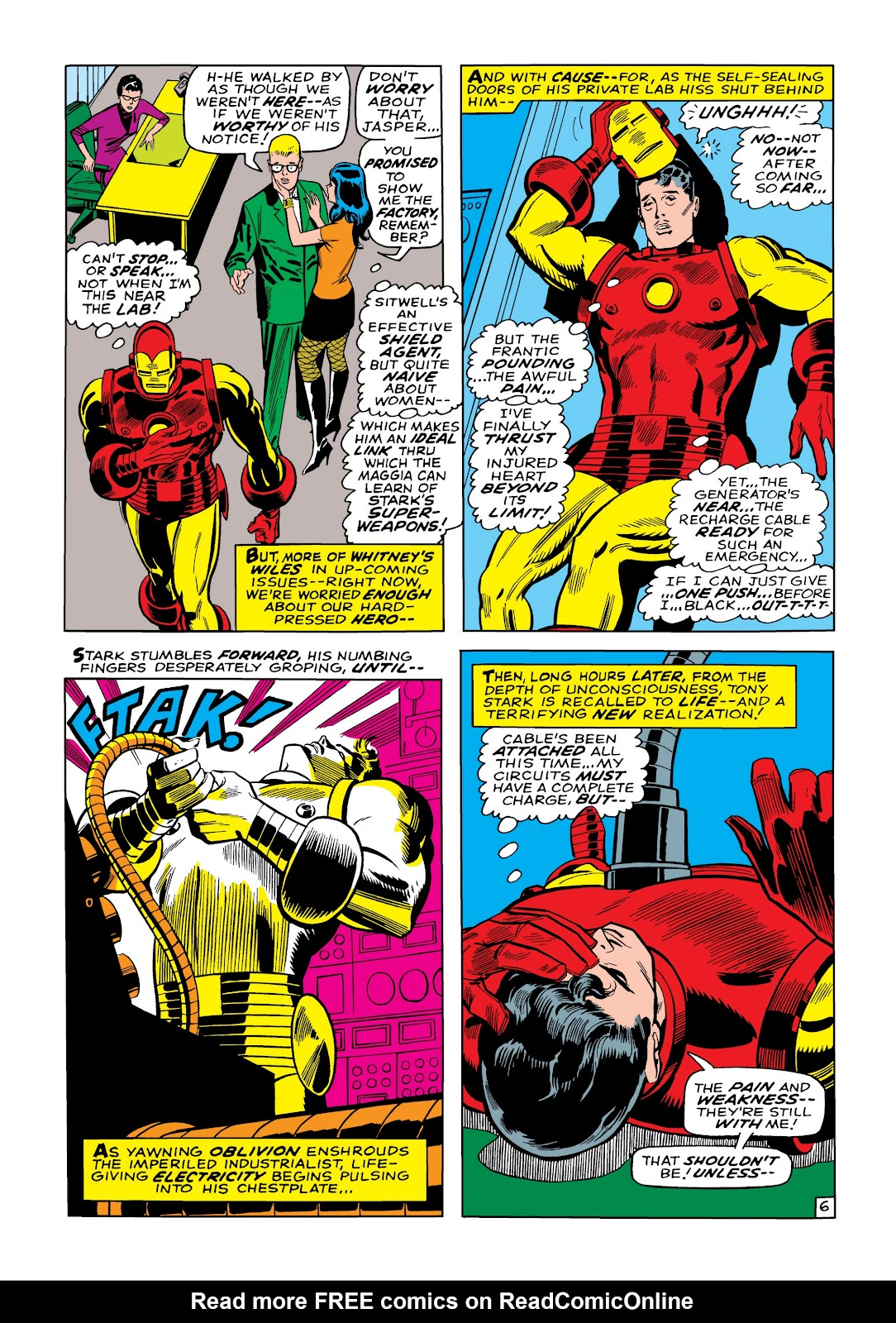 Read online Marvel Masterworks: The Invincible Iron Man comic -  Issue # TPB 5 (Part 1) - 34