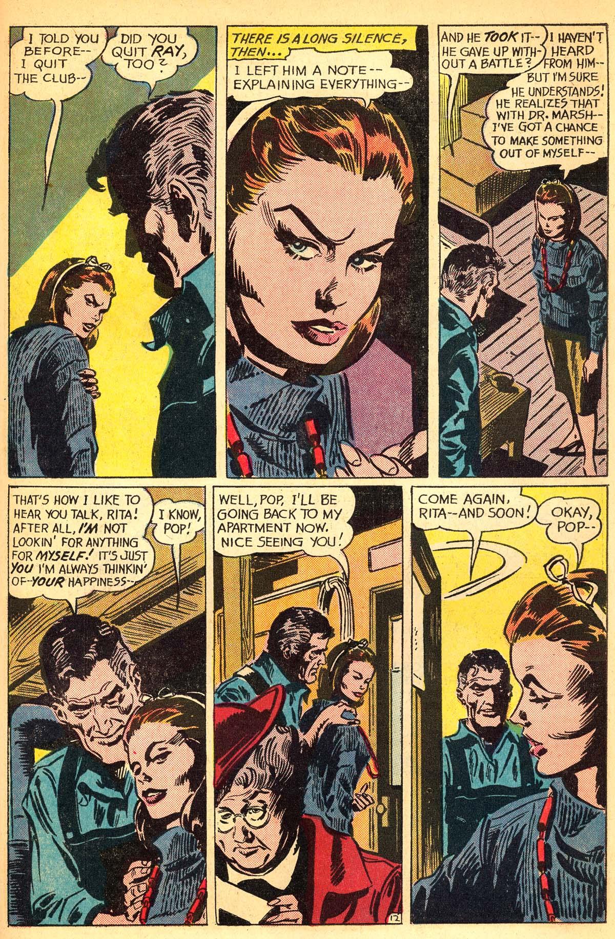 Read online Secret Hearts comic -  Issue #111 - 31