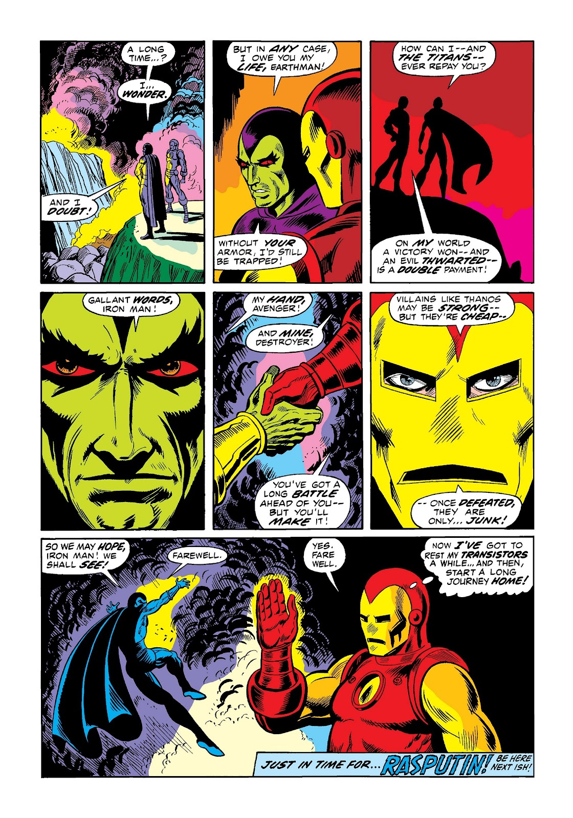 Read online Marvel Masterworks: The Invincible Iron Man comic -  Issue # TPB 9 (Part 1) - 48