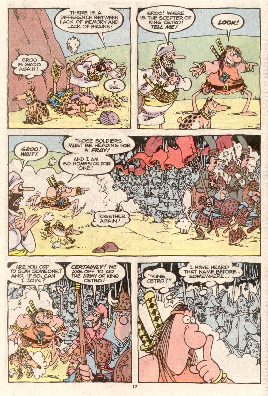 Read online Sergio Aragonés Groo the Wanderer comic -  Issue #74 - 13
