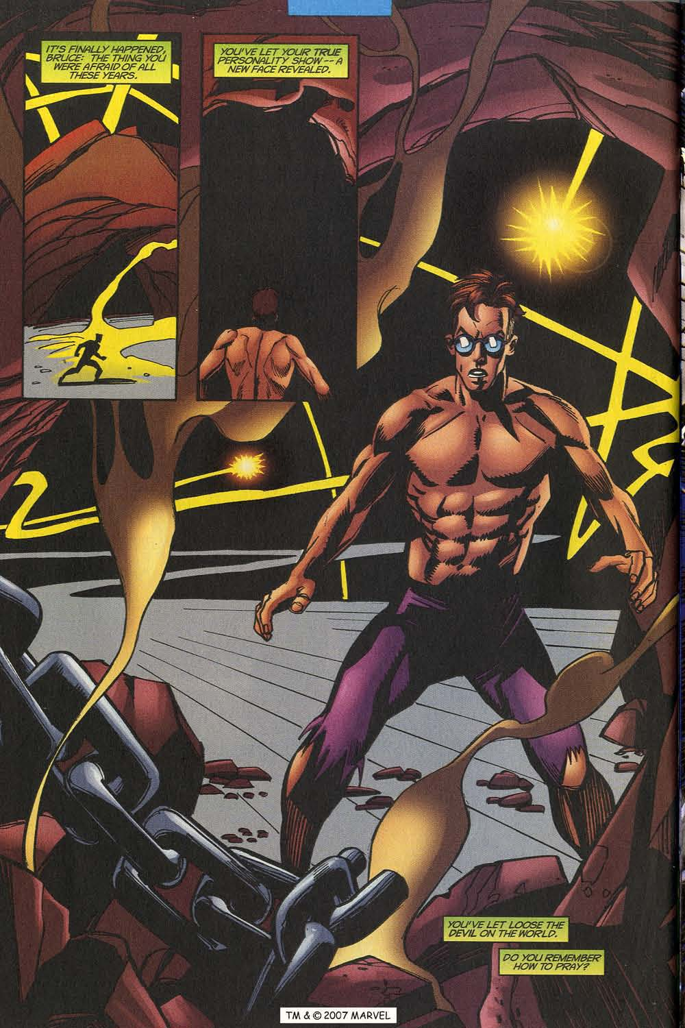 Read online The Incredible Hulk (2000) comic -  Issue #20 - 36