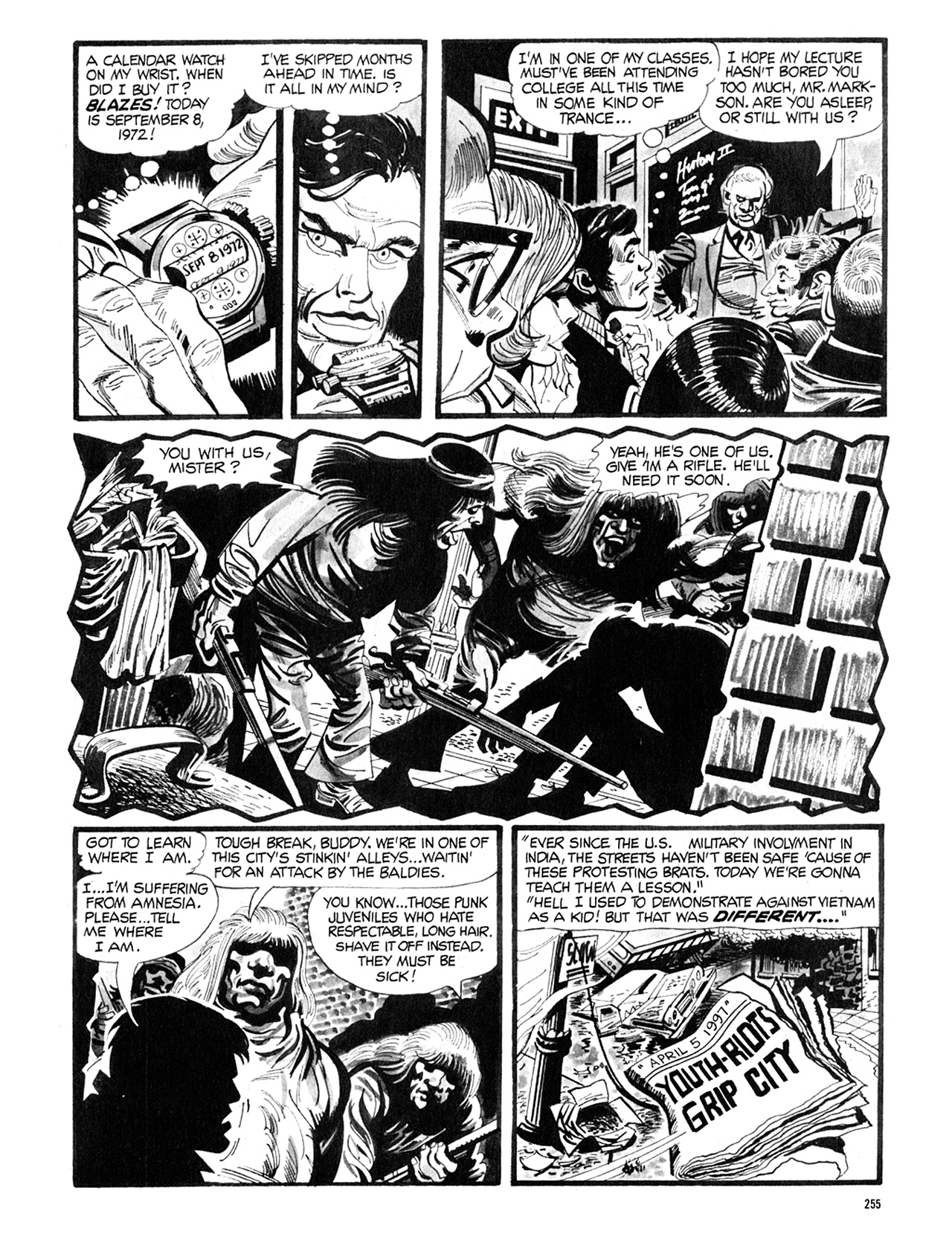 Read online Eerie Archives comic -  Issue # TPB 8 - 256