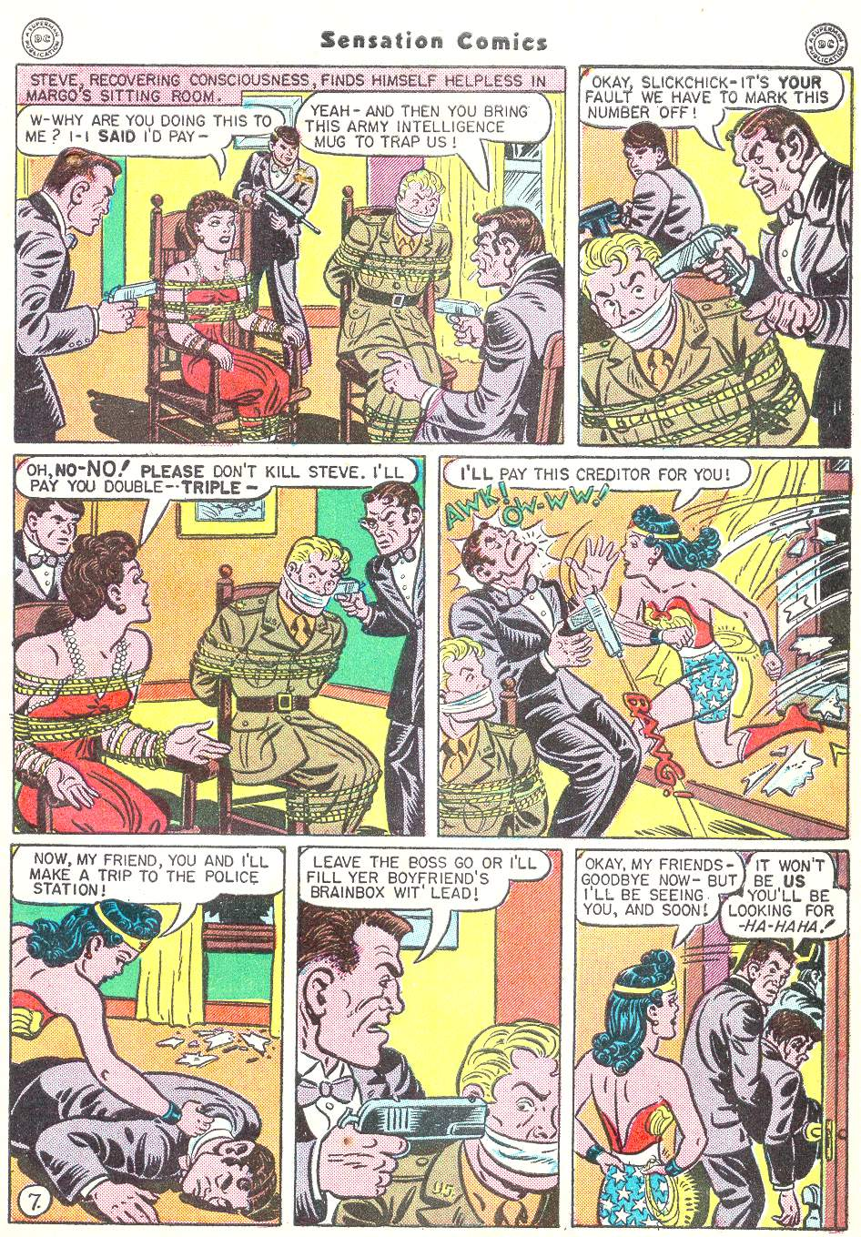 Read online Sensation (Mystery) Comics comic -  Issue #50 - 9