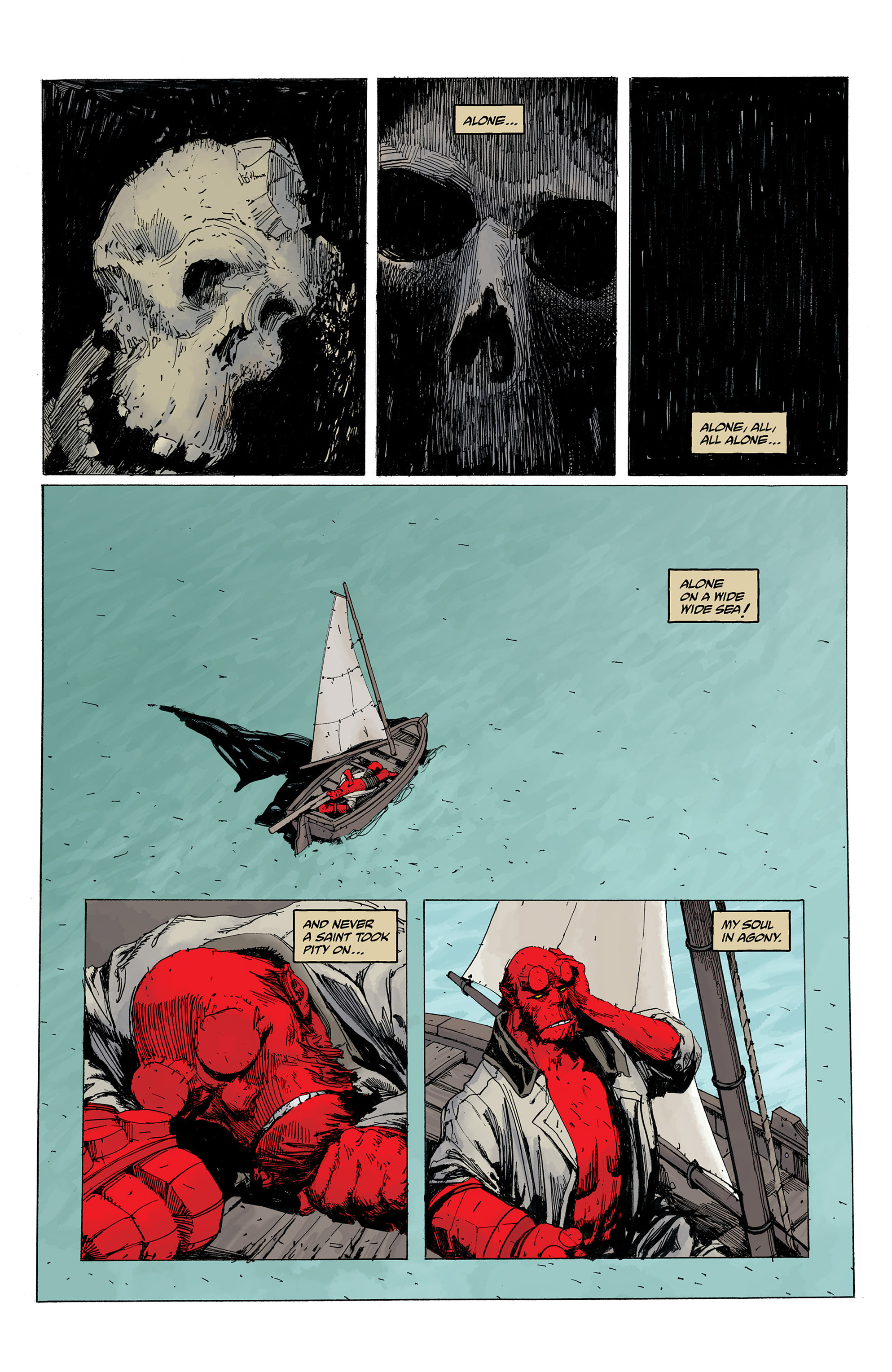 Read online Hellboy: Into the Silent Sea comic -  Issue # Full - 56