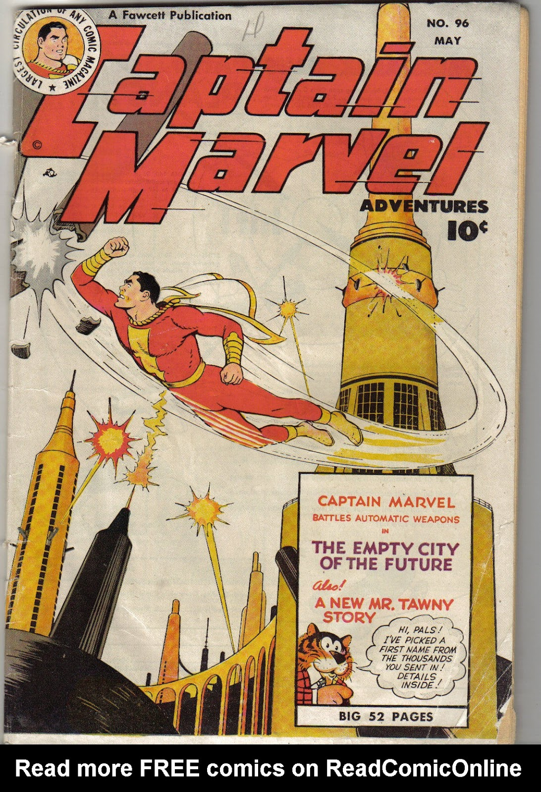 Captain Marvel Adventures 96 Page 1