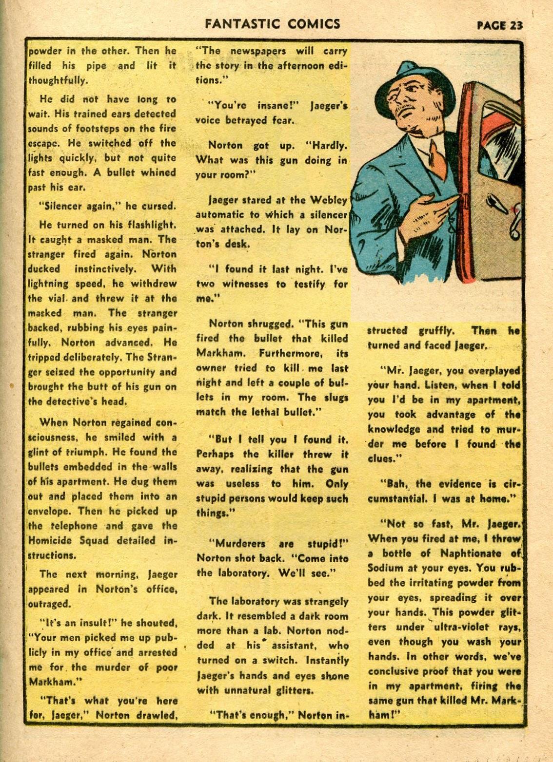 Read online Fantastic Comics comic -  Issue #21 - 25