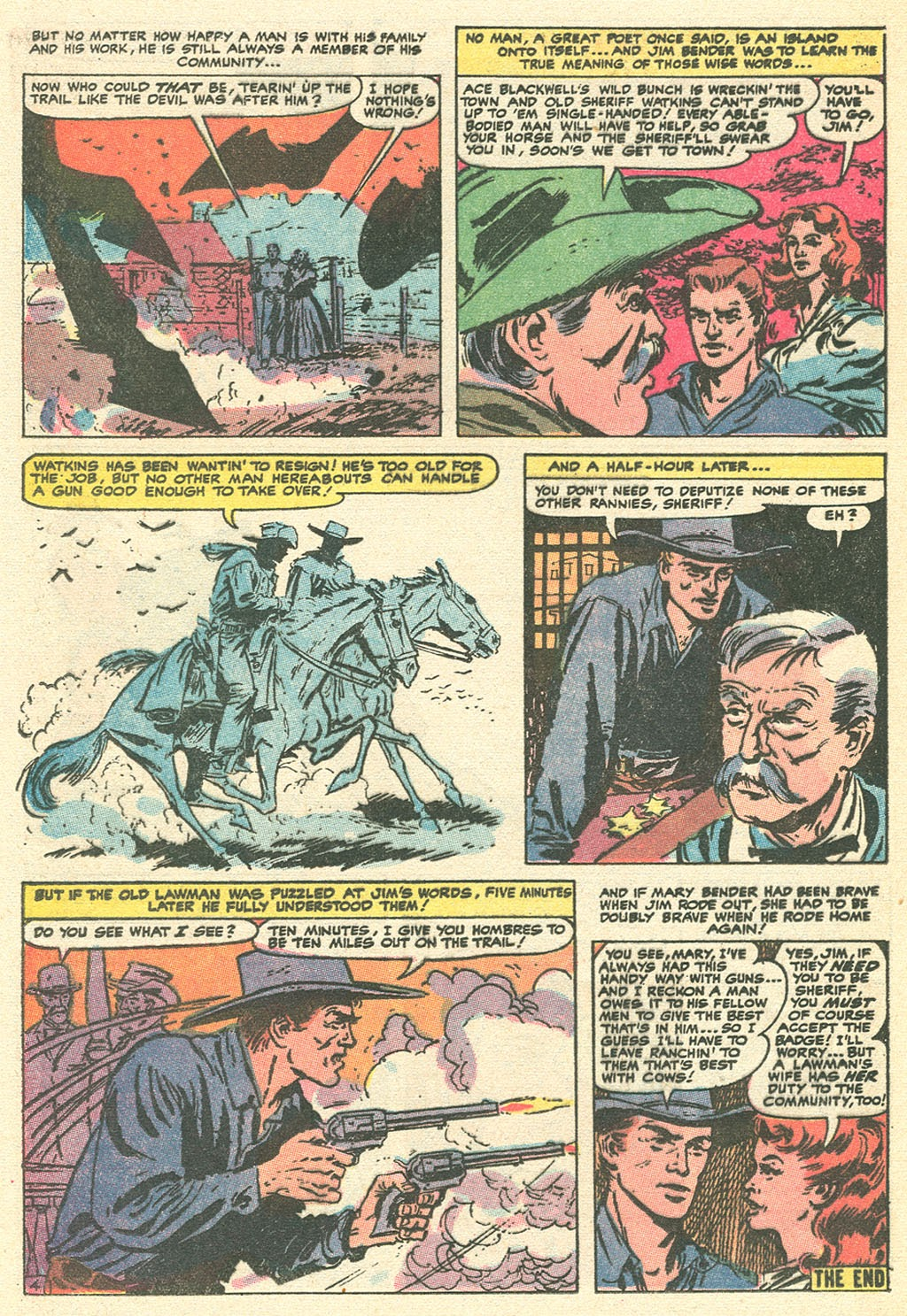 Kid Colt Outlaw issue 151 - Page 24
