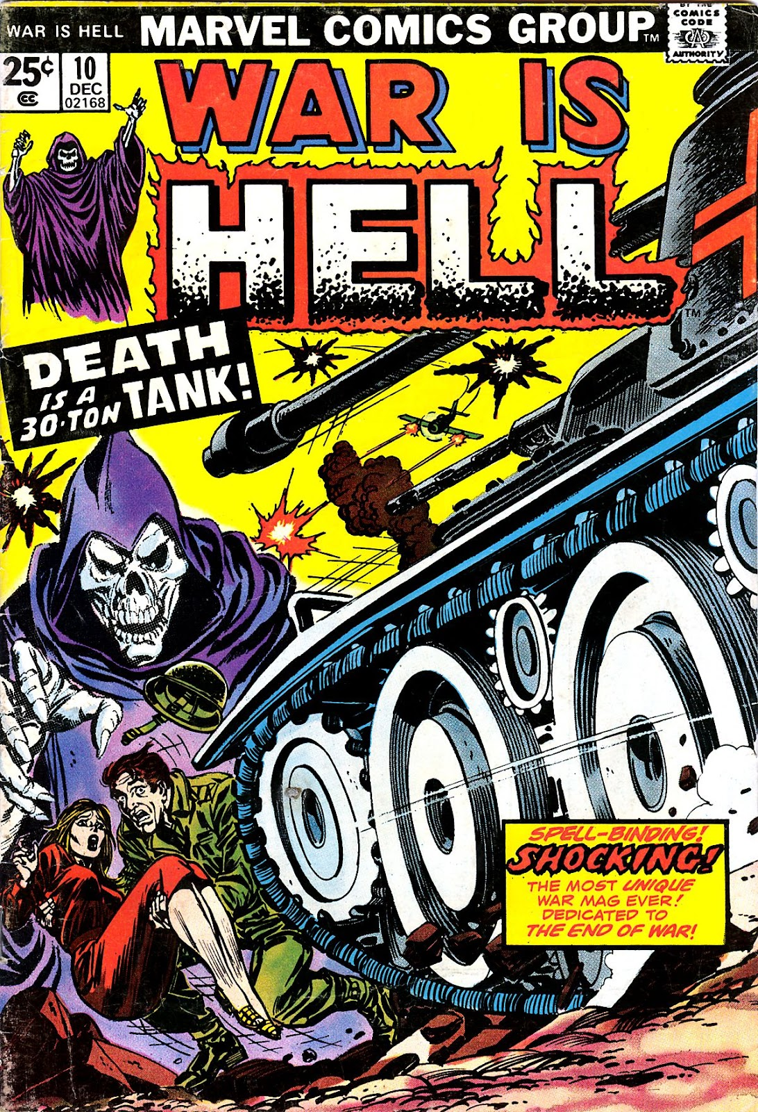 War Is Hell (1973) issue 10 - Page 1