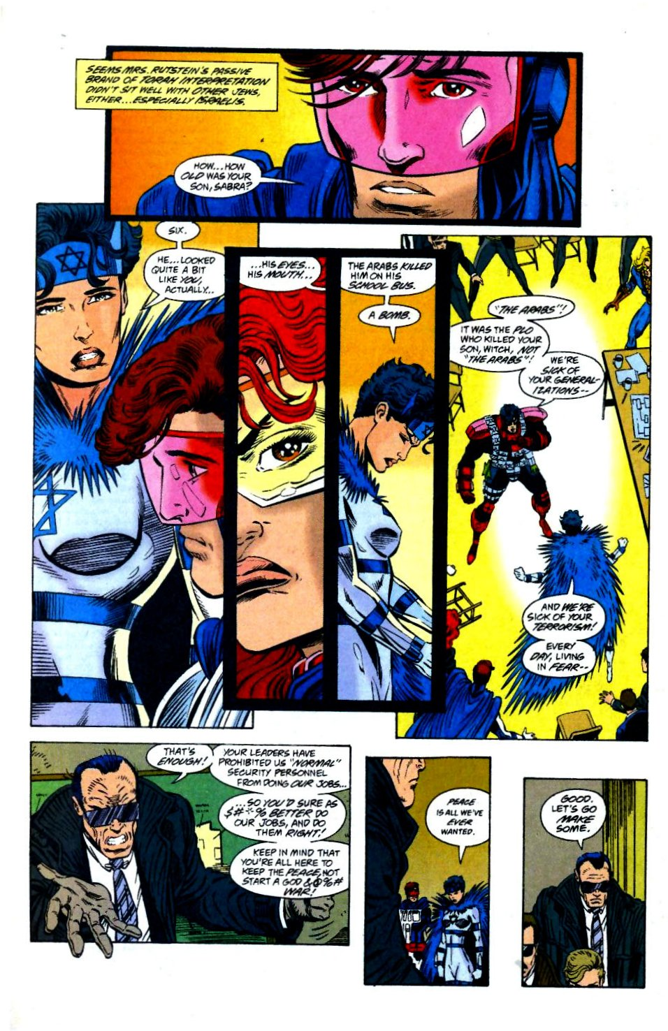 The New Warriors Issue #58 #62 - English 18