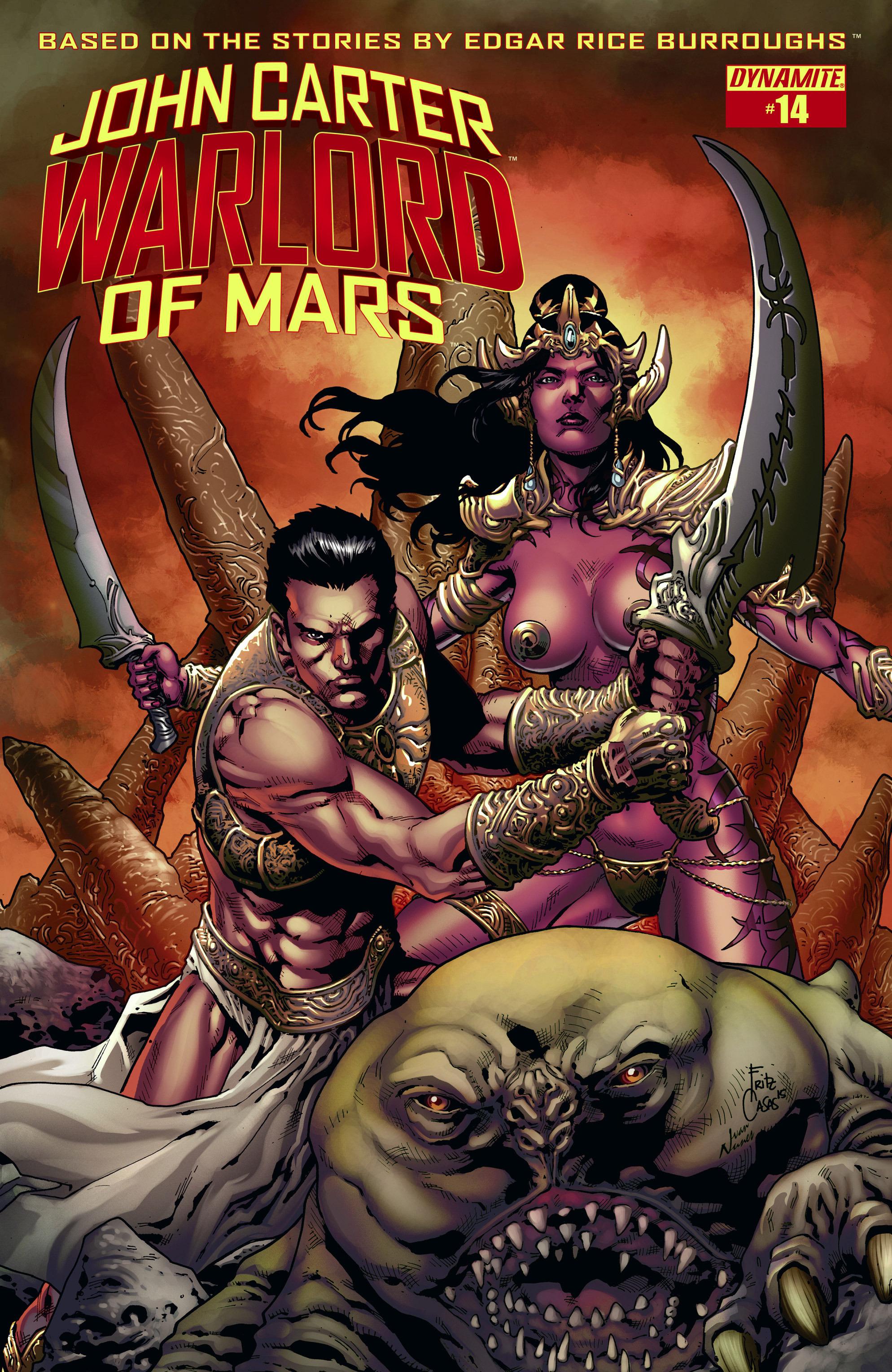 John Carter, Warlord of Mars (2014) 14 Page 1