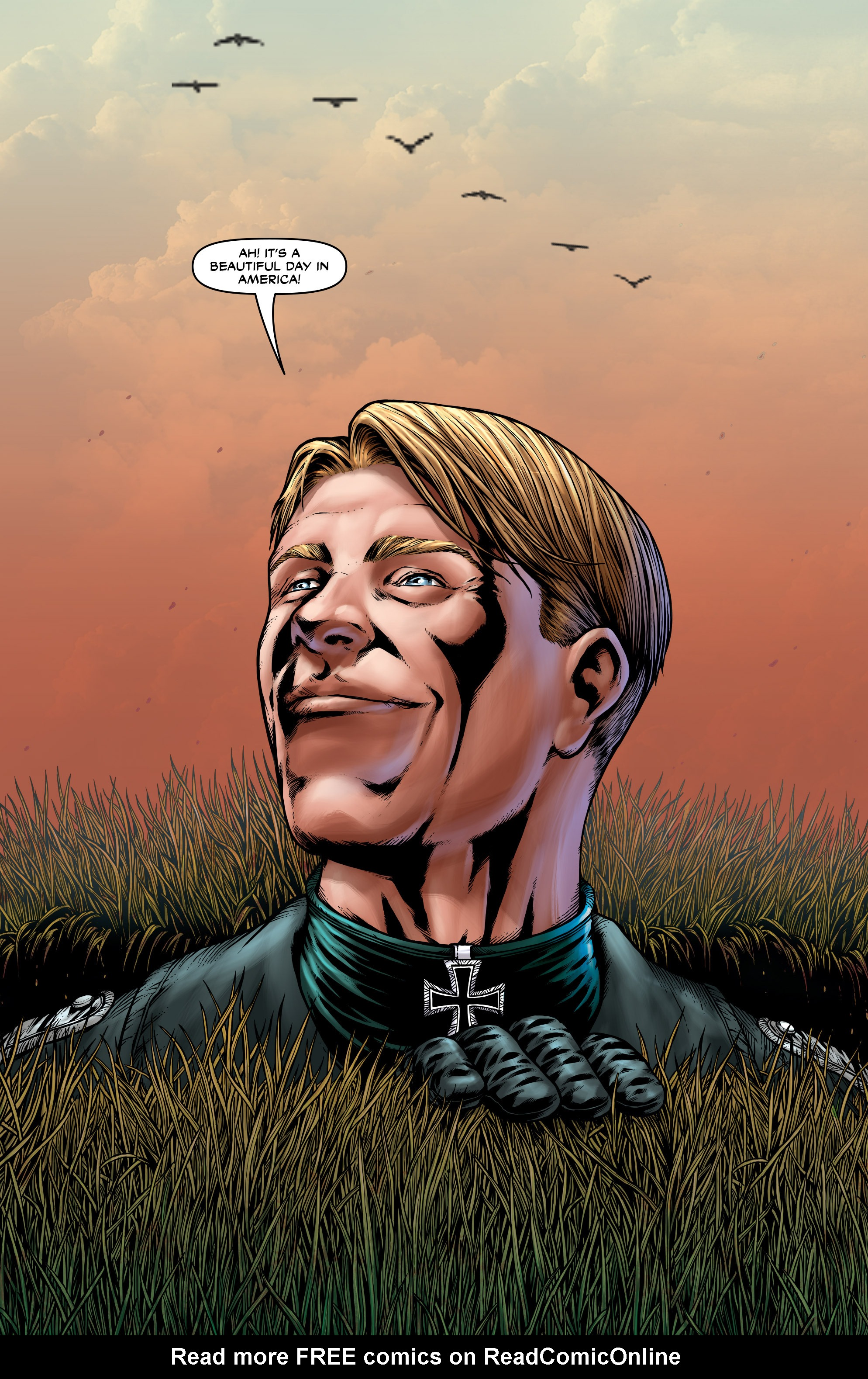 Read online Uber: Invasion comic -  Issue #3 - 4
