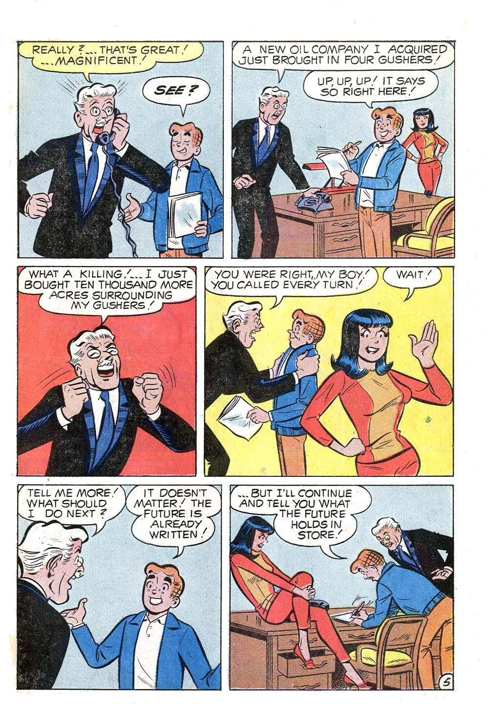 Read online Archie (1960) comic -  Issue #204 - 7