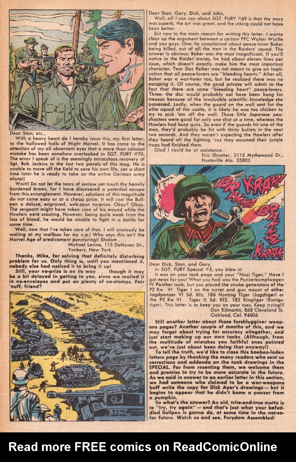Read online Sgt. Fury comic -  Issue #73 - 33