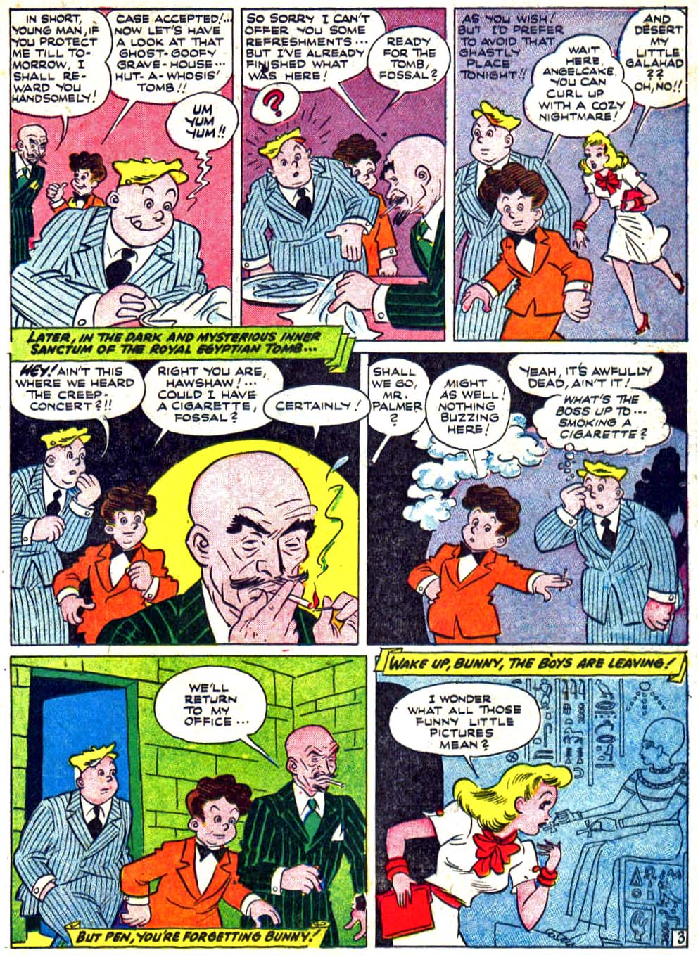 Star Spangled Comics (1941) issue 27 - Page 35