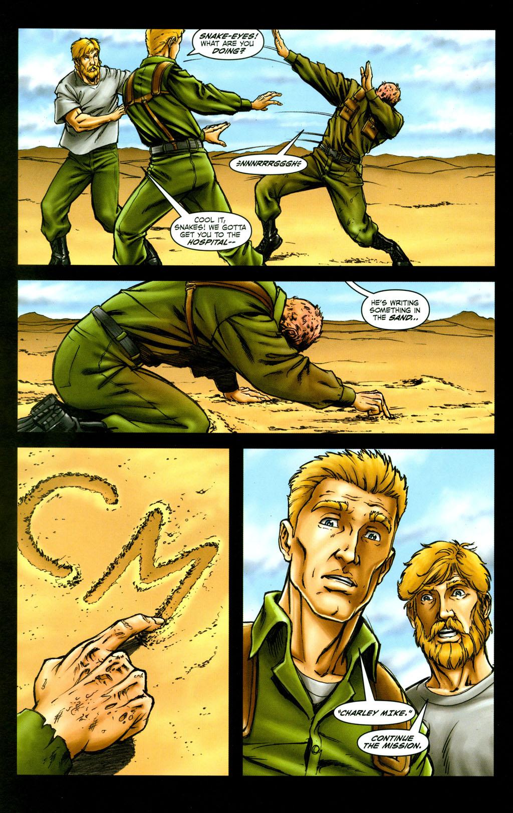 Read online Snake Eyes: Declassified comic -  Issue #6 - 15