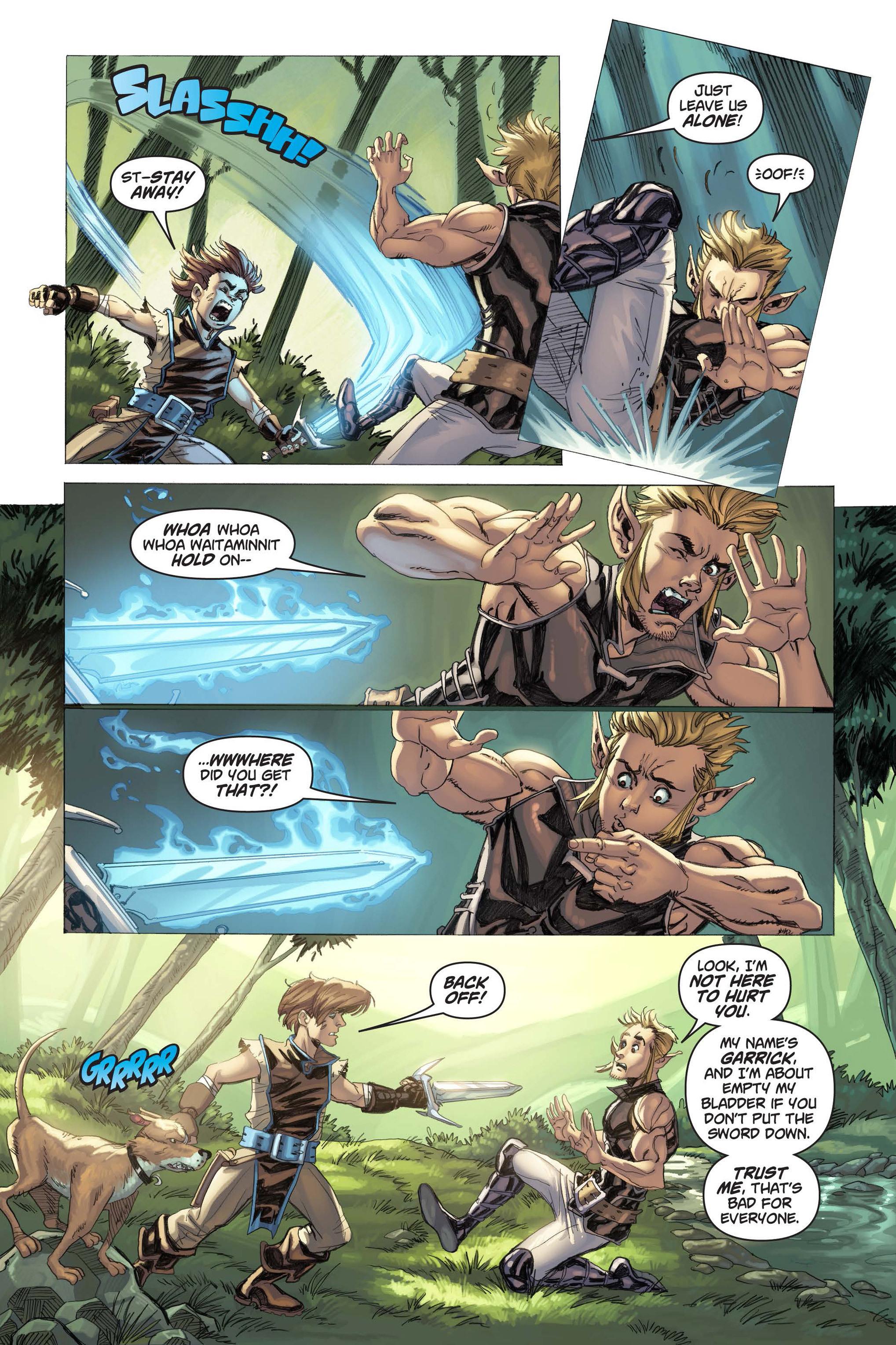 Read online Skyward comic -  Issue #3 - 17