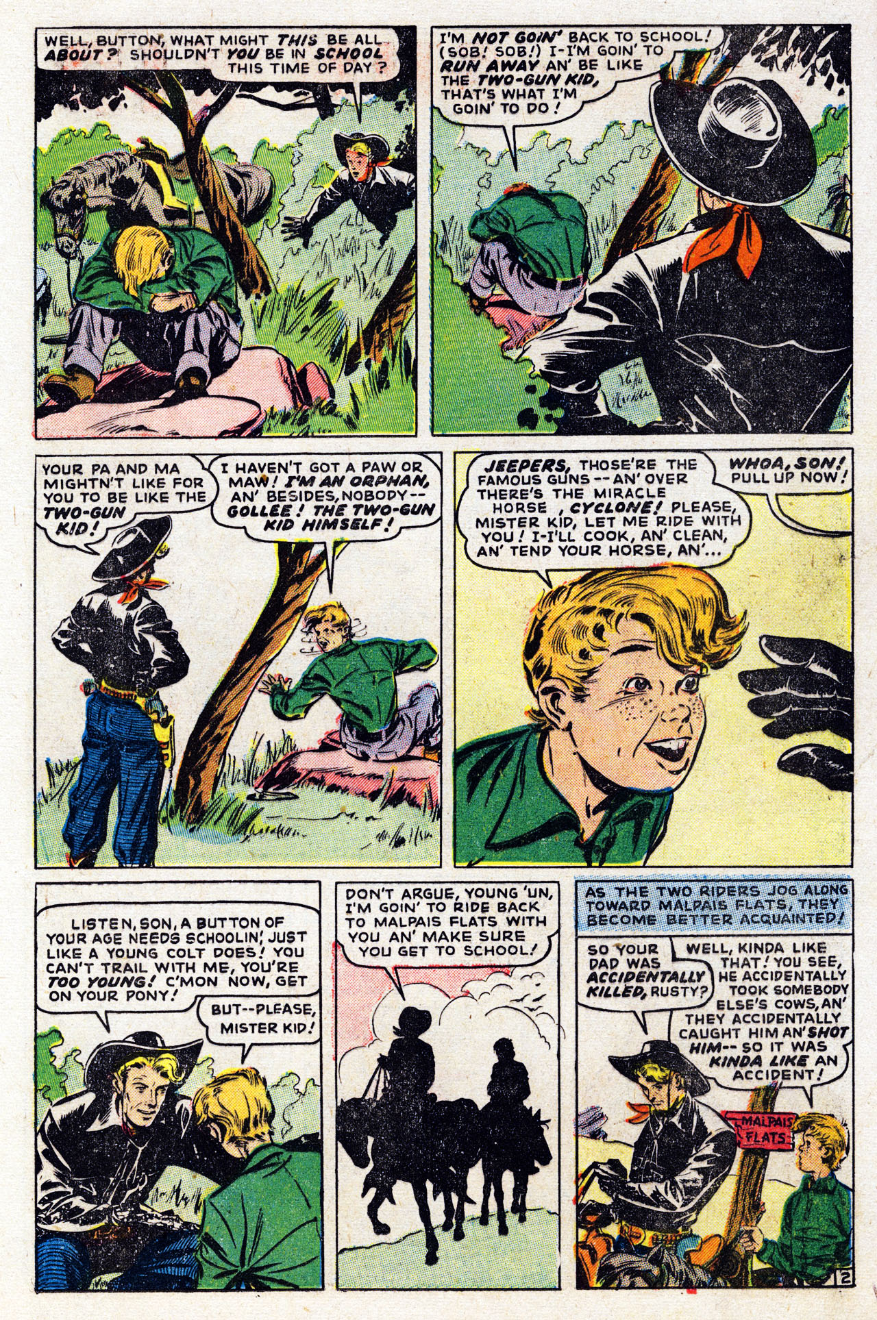 Read online Two-Gun Kid comic -  Issue #7 - 13