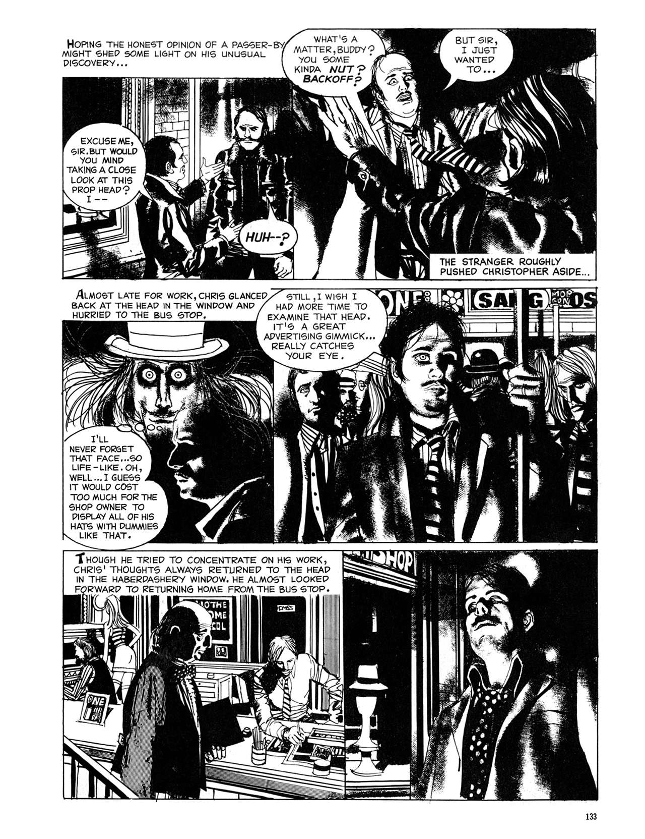 Read online Eerie Archives comic -  Issue # TPB 8 - 134