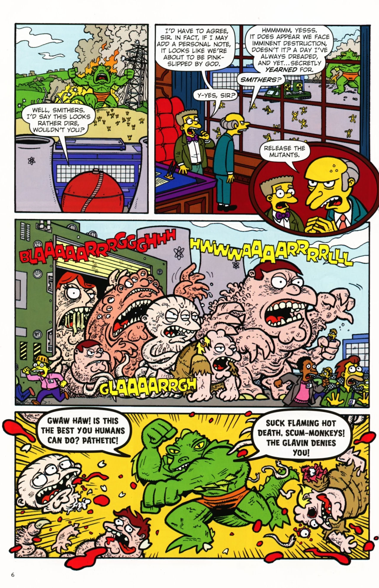 Read online Treehouse of Horror comic -  Issue #16 - 9