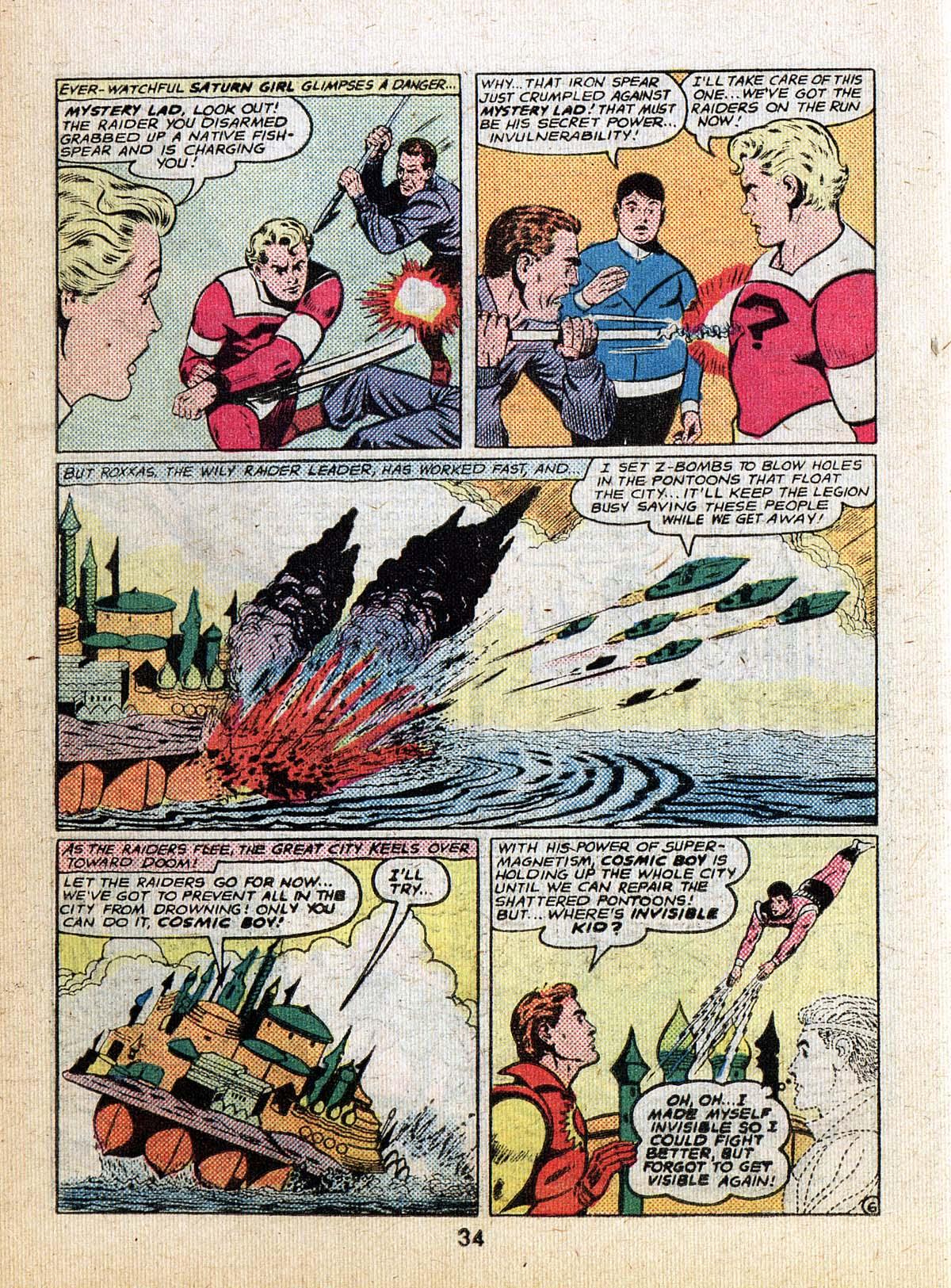 Read online Adventure Comics (1938) comic -  Issue #500 - 34